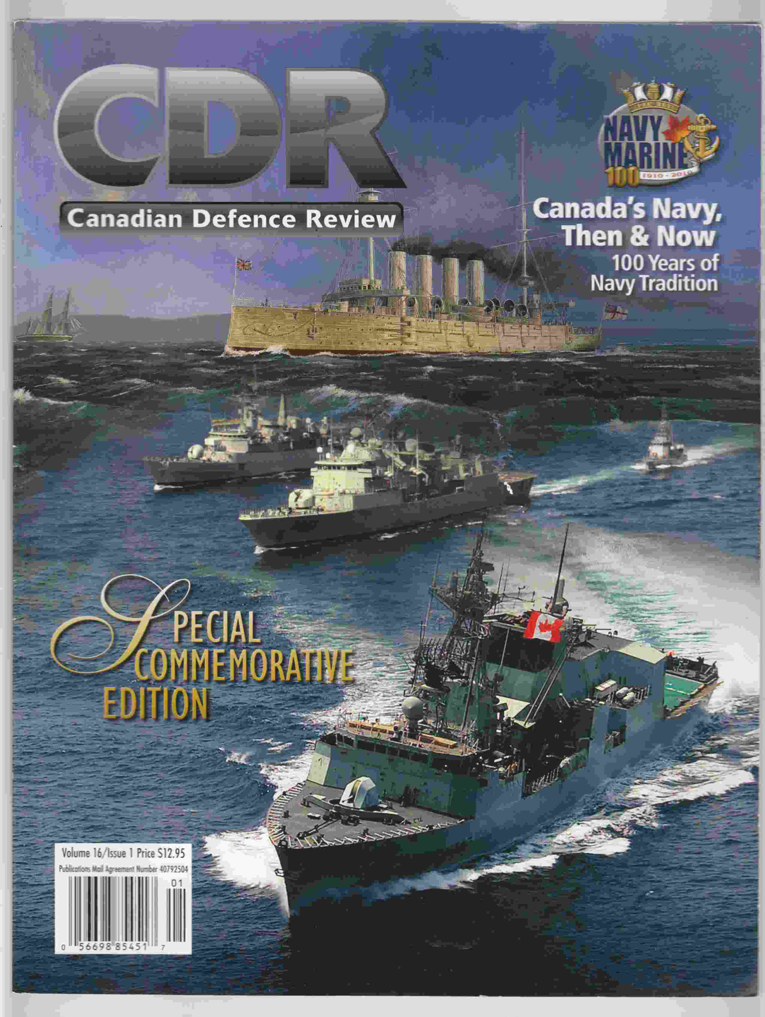 Image for Canadian Defence Review Volume 16 Issue 1