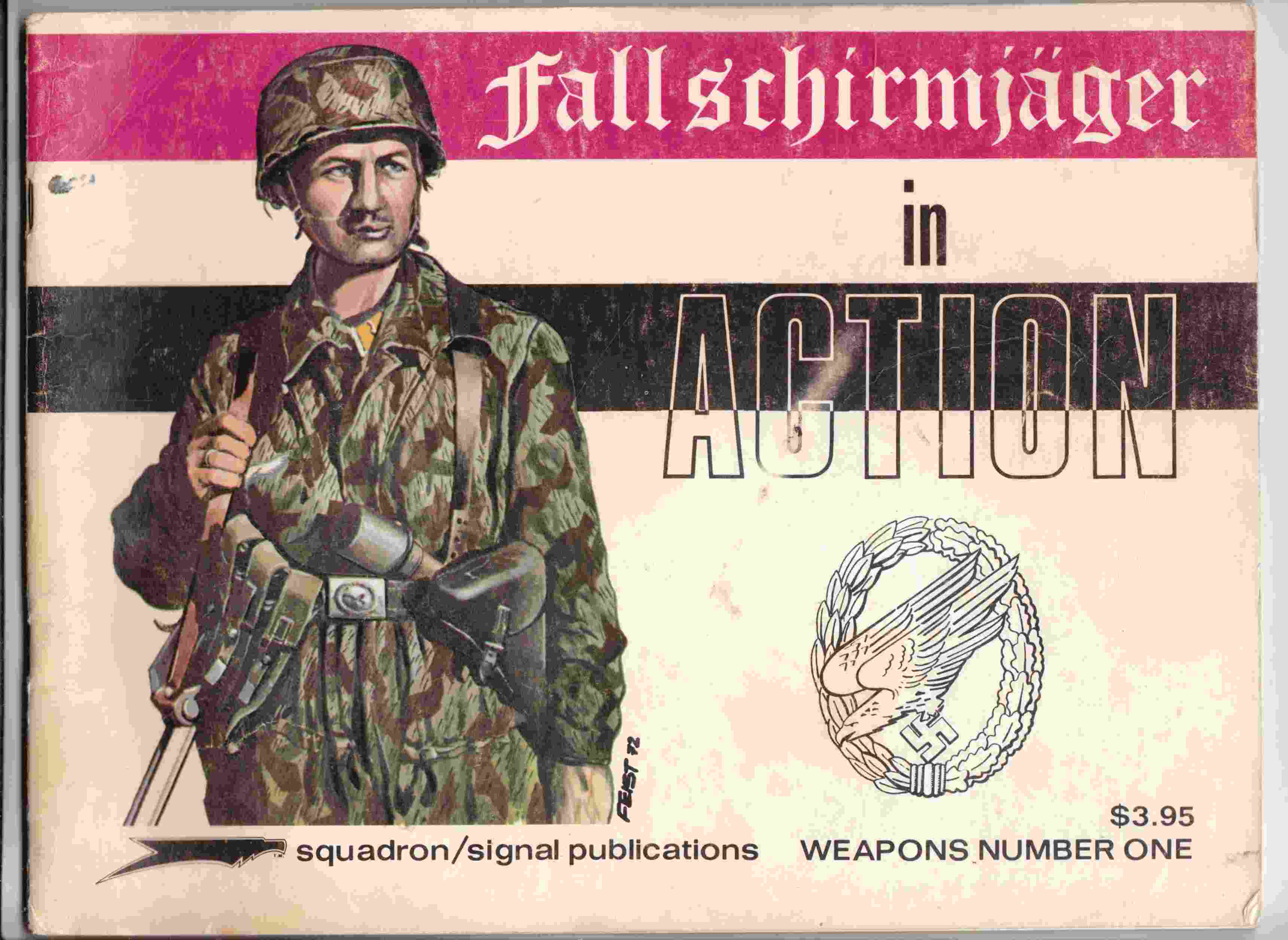 Image for Fallshirmjager in Action