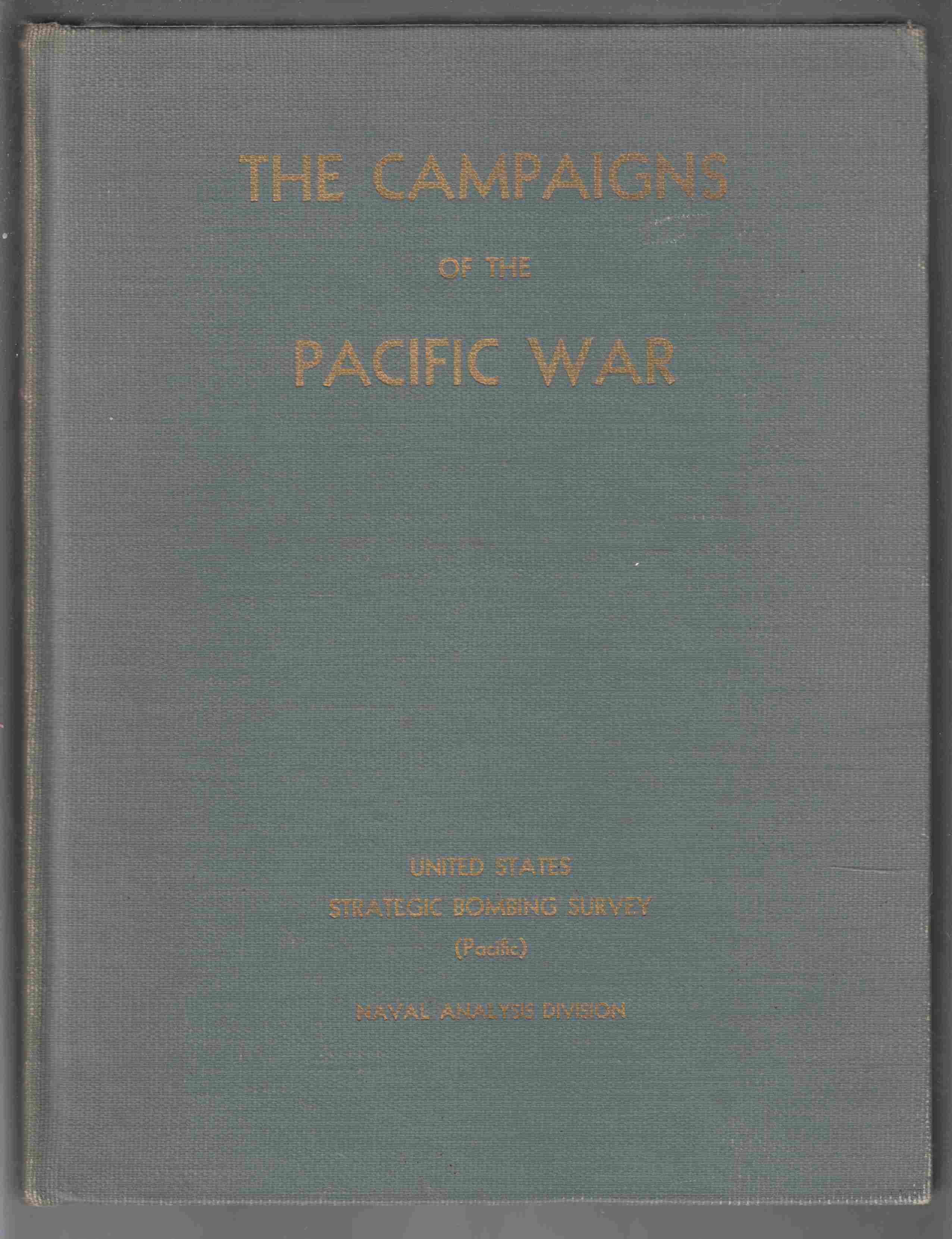 Image for The Campaigns of the Pacific War