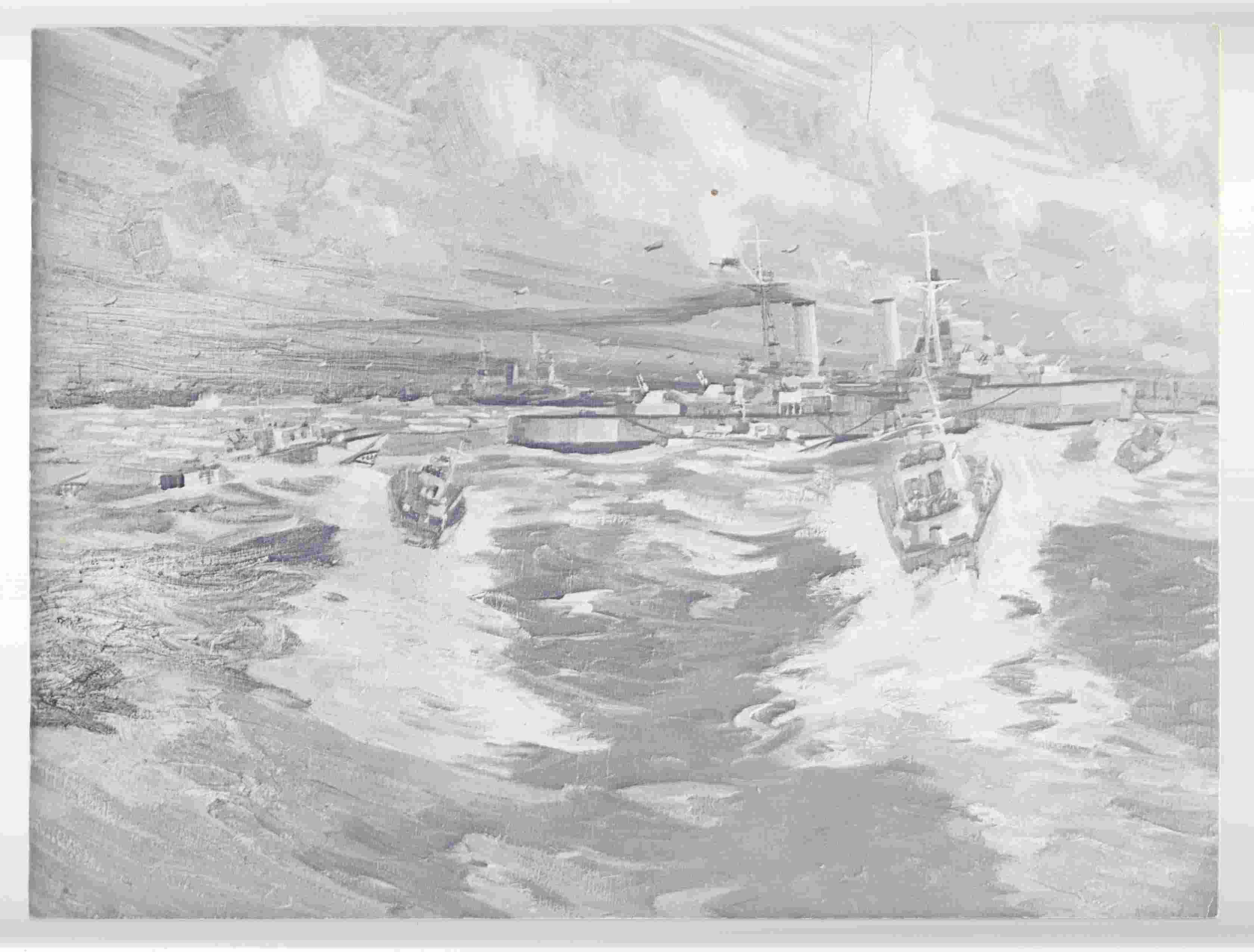 Image for Naval Paintings of the Second World War: Naval Reserves in Canada / Tableaux Navals De La Seconde Guerre Mondiale: Les Reserves Navales Au Canada