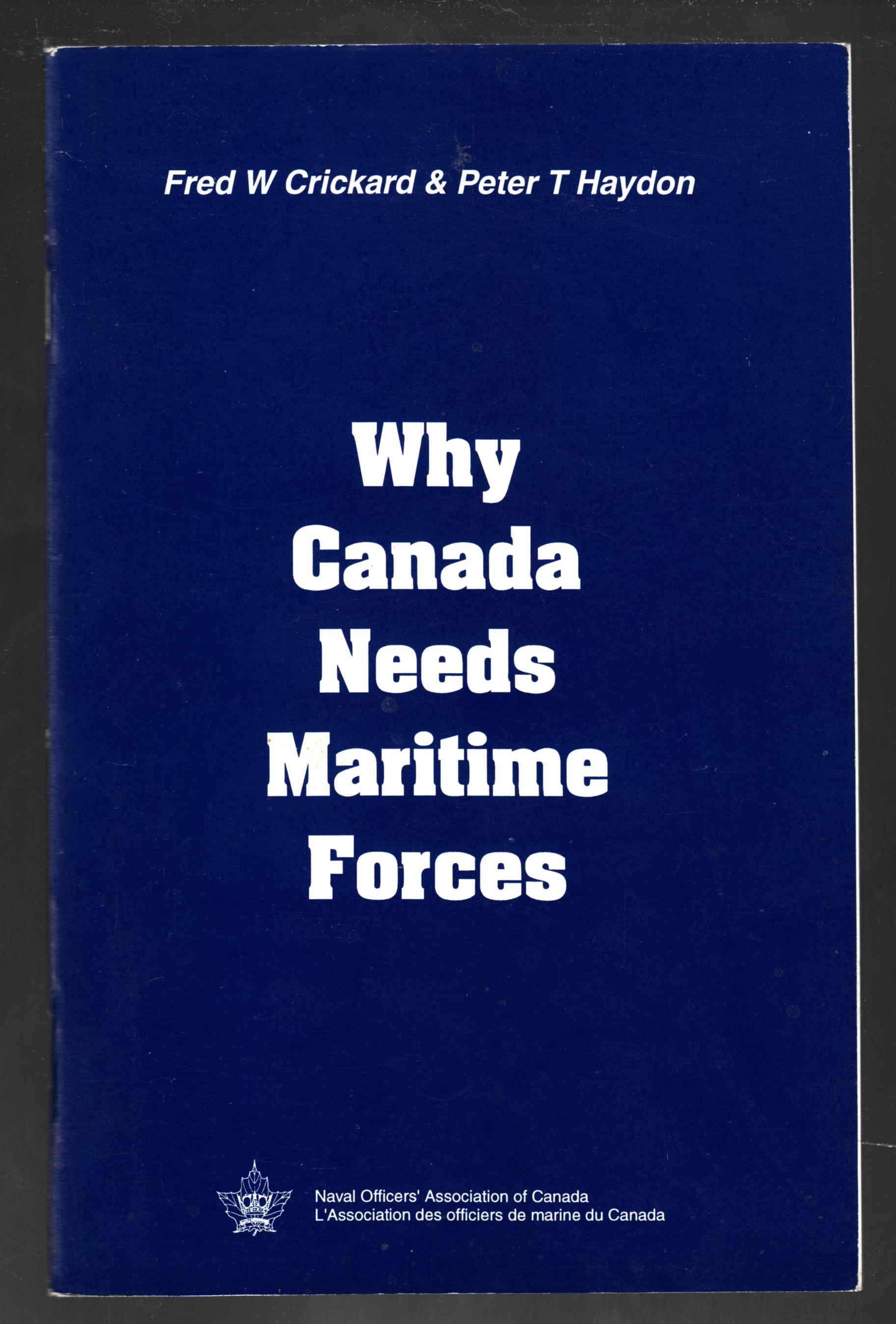 Image for Why Canada Needs Maritime Forces