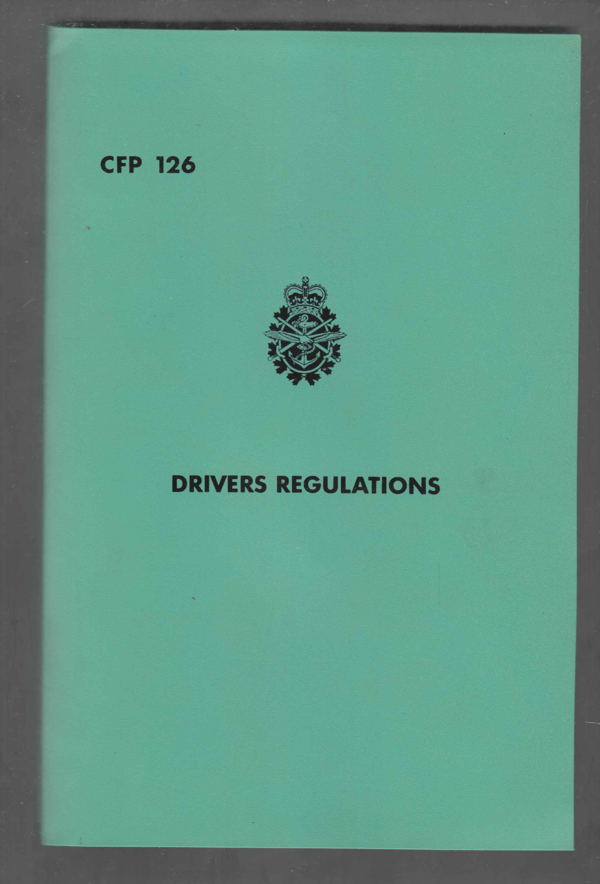 Image for Drivers Regulations CFP 126