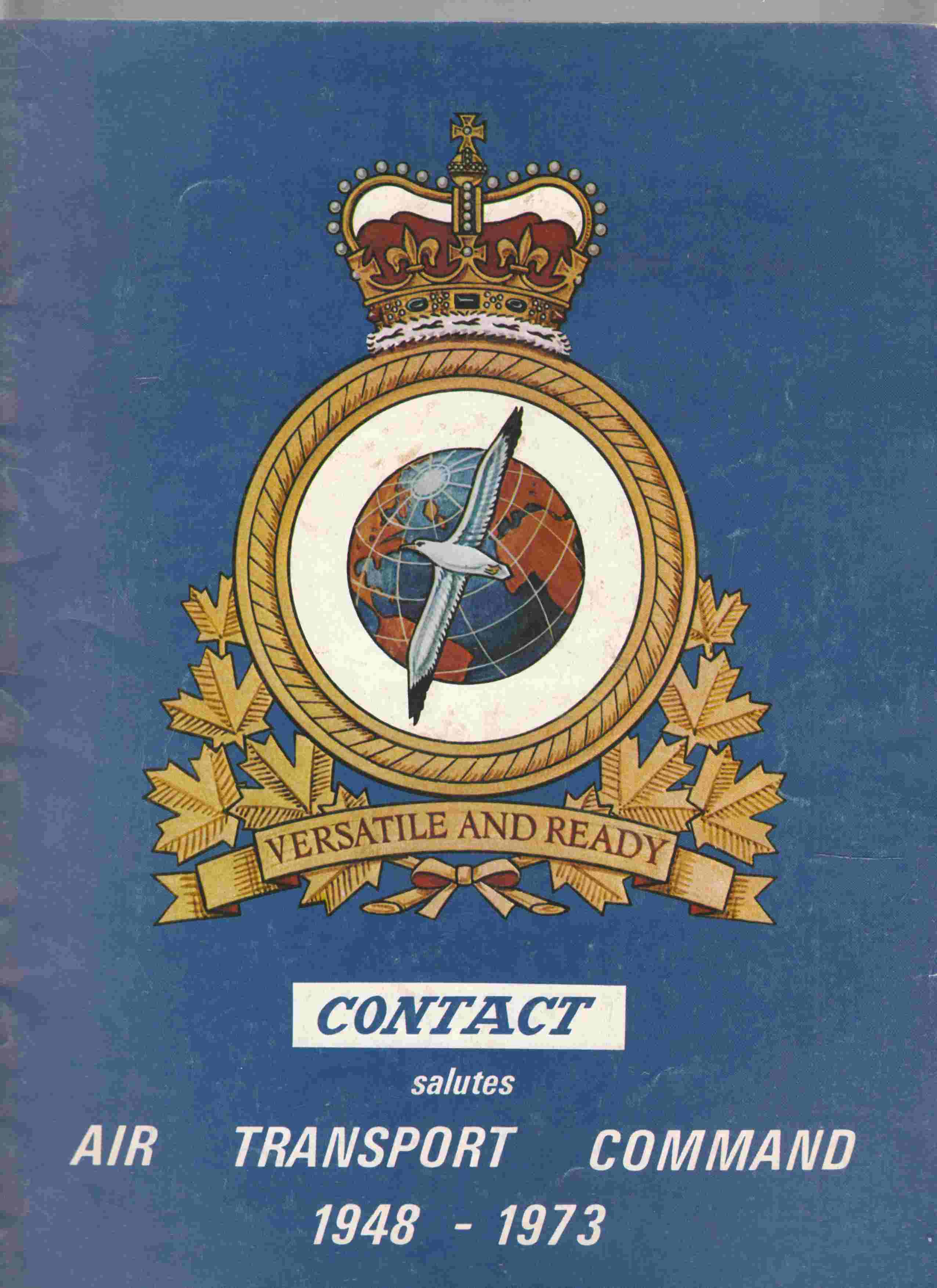 Image for Contact Salutes Air Transport Command 1948 - 1973