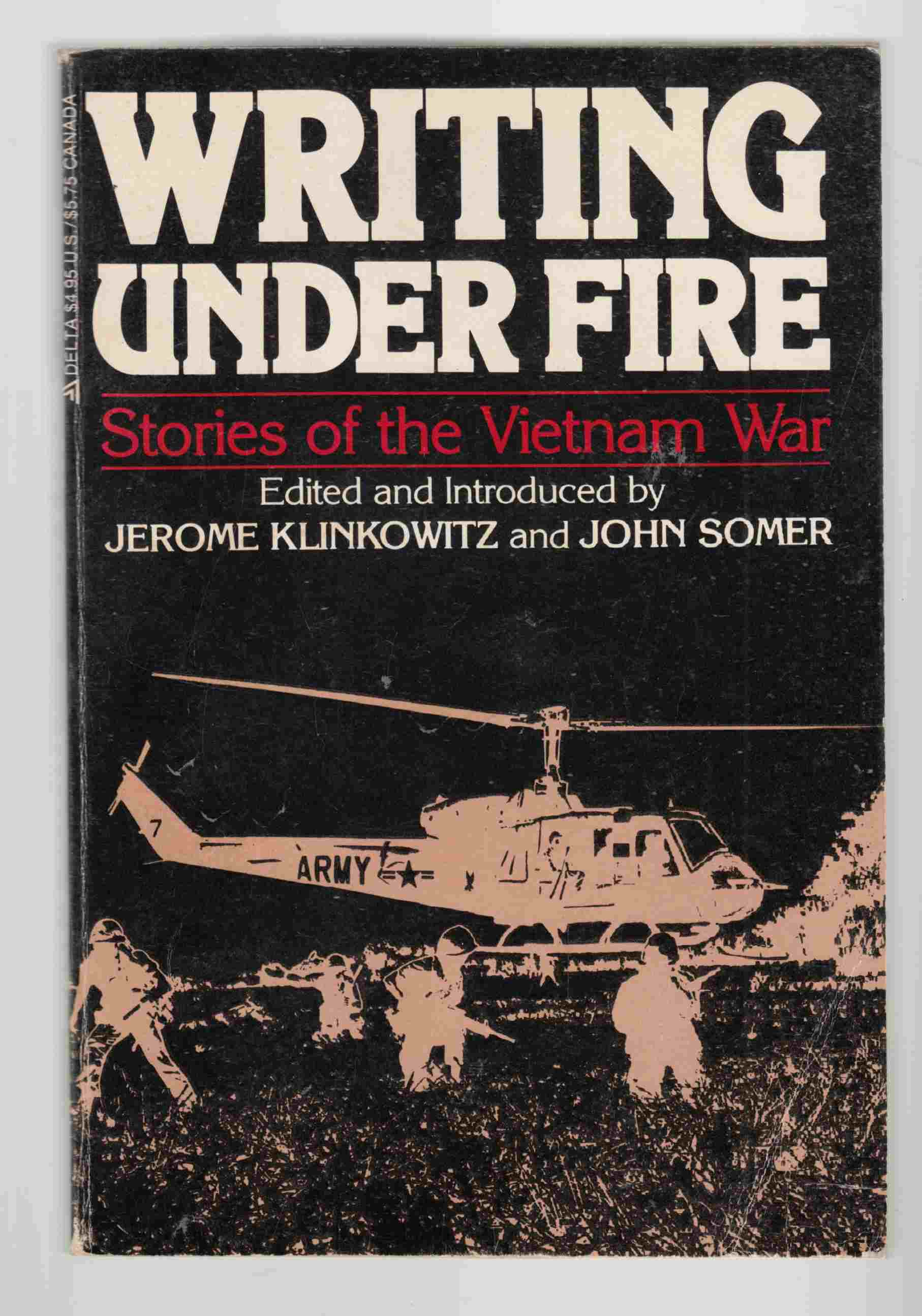 Image for Writing under Fire Stories of the Vietnam War
