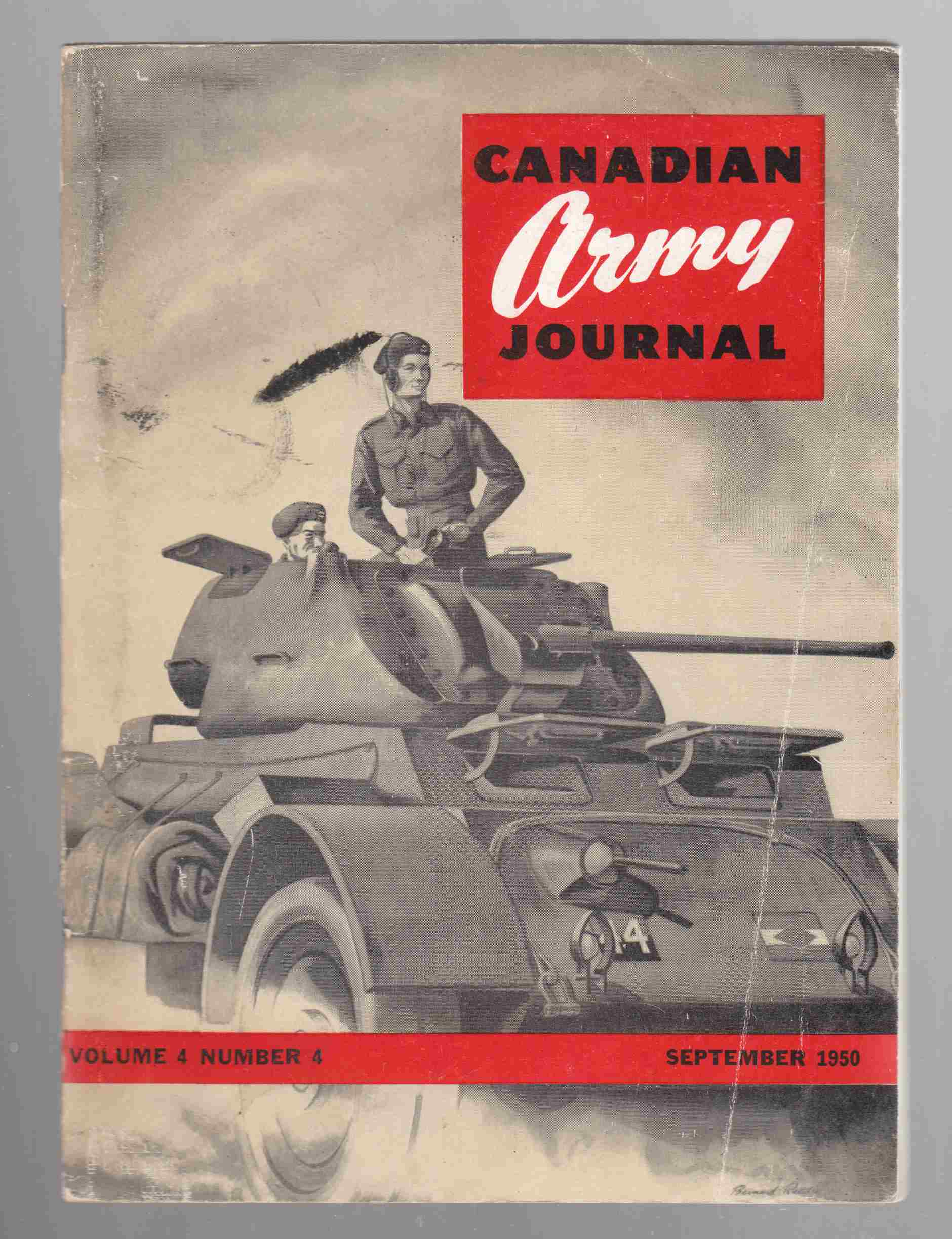 Image for Canadian Army Journal Volume 4 Number 4 September, 1950