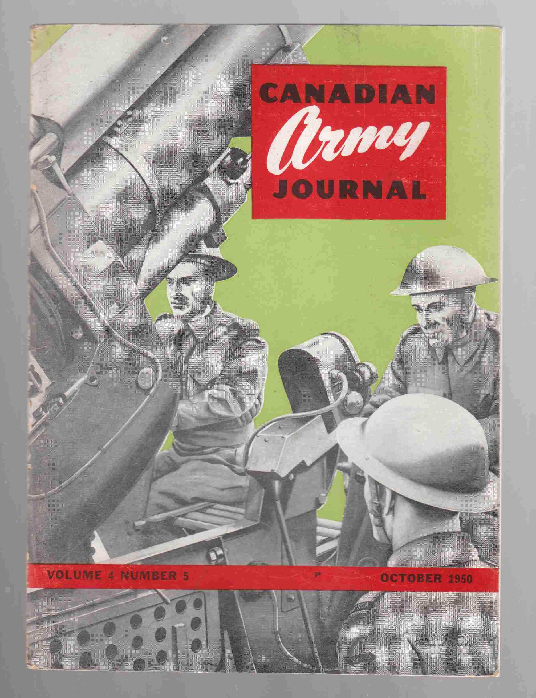 Image for Canadian Army Journal Volume 4 Number 5 October 1950
