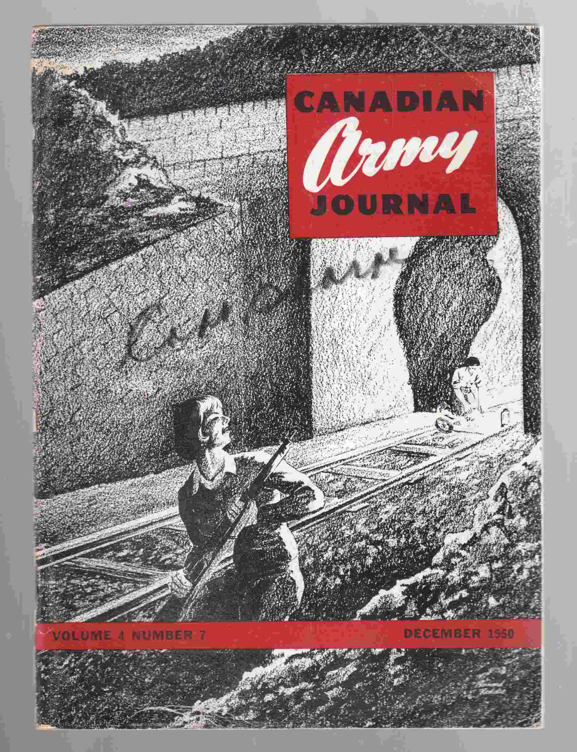 Image for Canadian Army Journal Volume 4 Number 7 December 1950