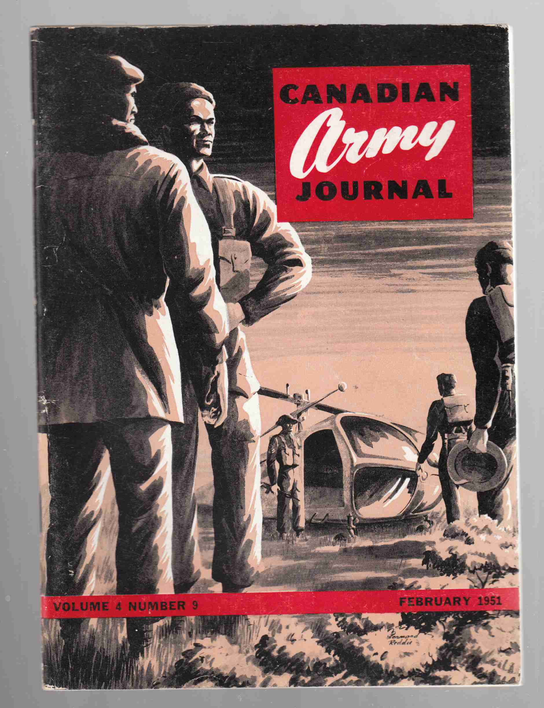 Image for Canadian Army Journal Volume 4 Number 9 February 1951