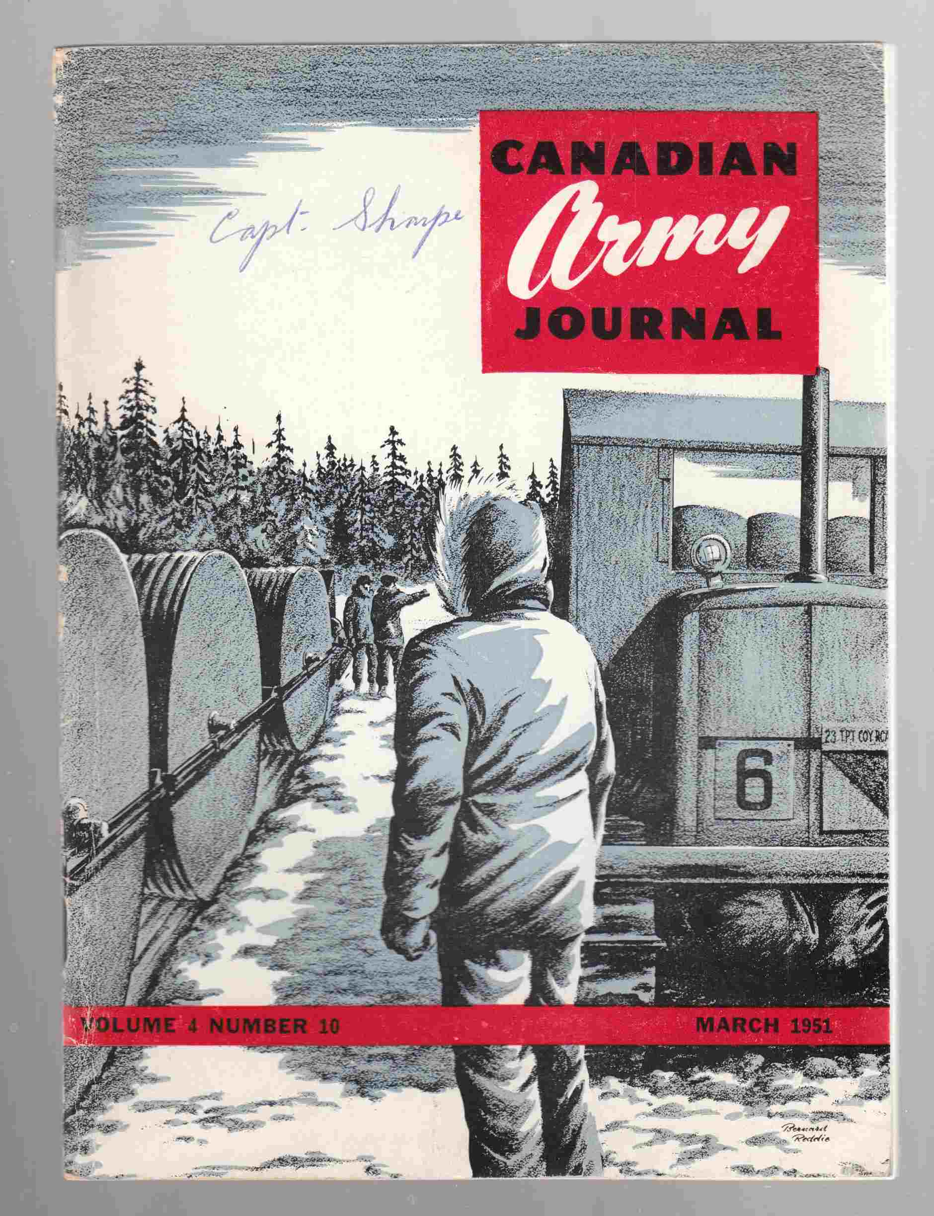 Image for Canadian Army Journal Volume 4 Number 10 March 1951