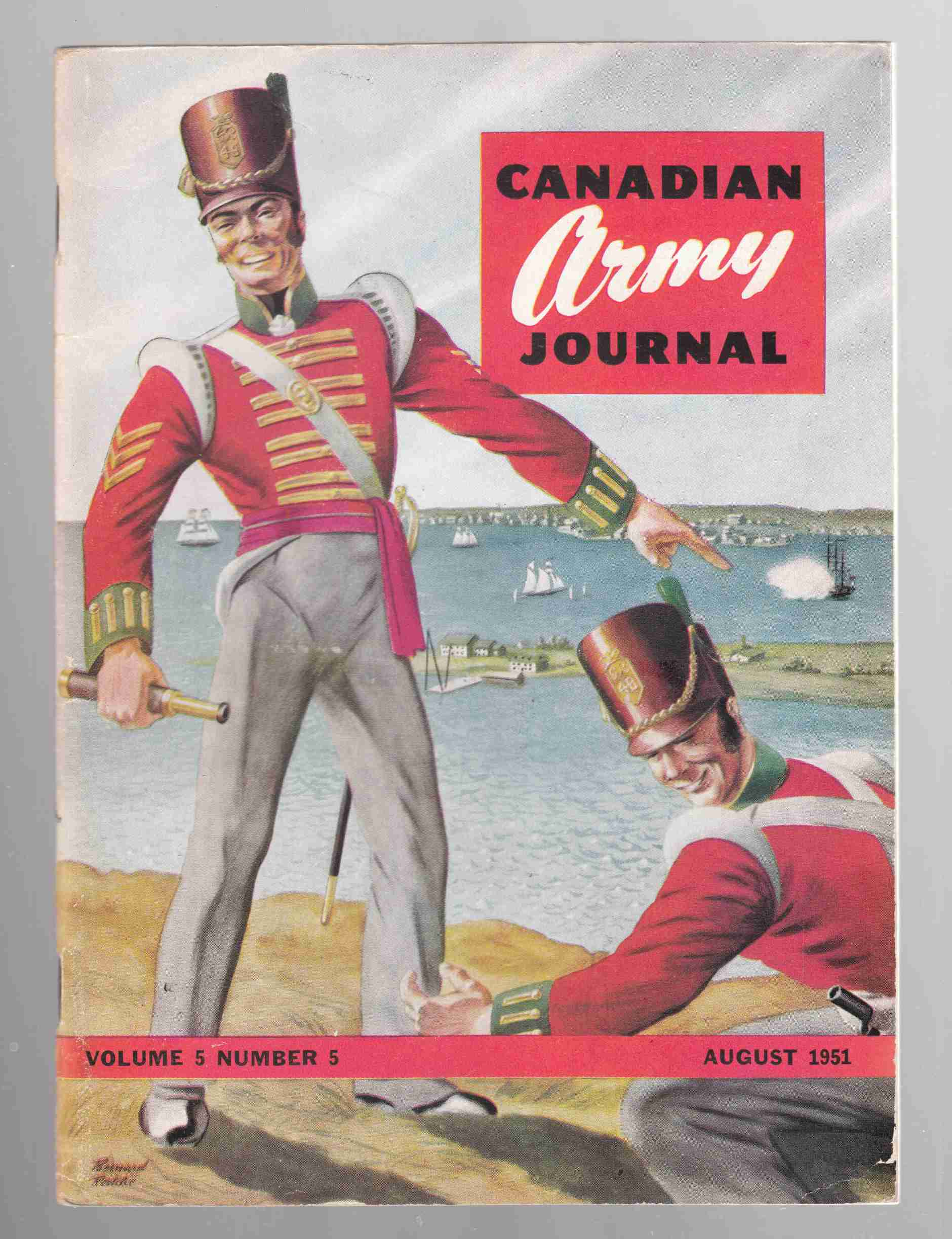 Image for Canadian Army Journal Volume 5 Number 5 August 1951