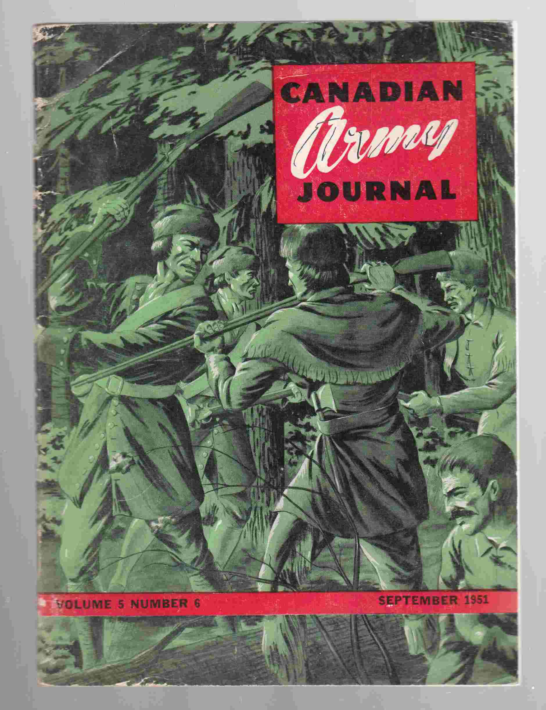 Image for Canadian Army Journal Volume 5 Number 6 September 1951