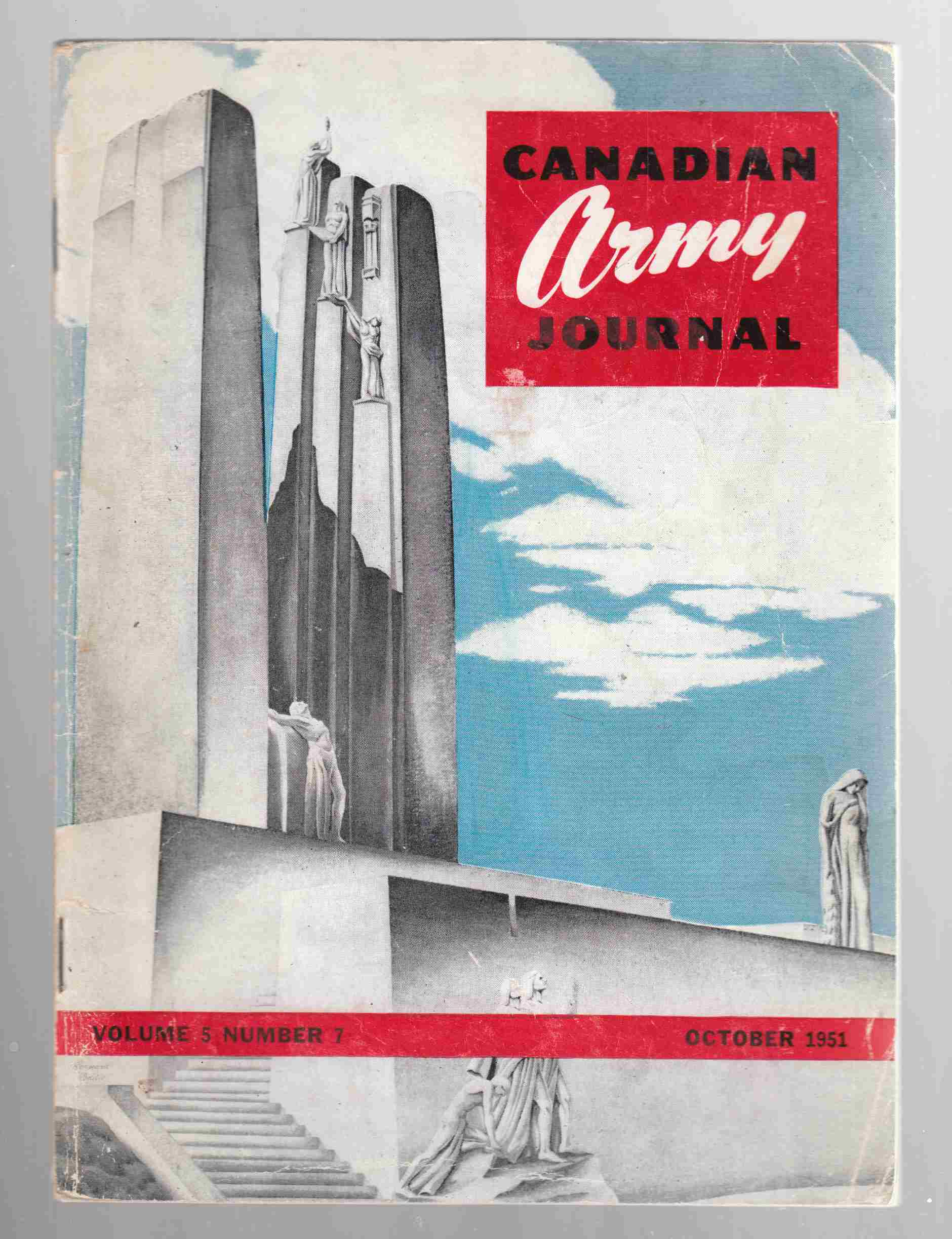 Image for Canadian Army Journal Volume 5 Number 7 October 1951