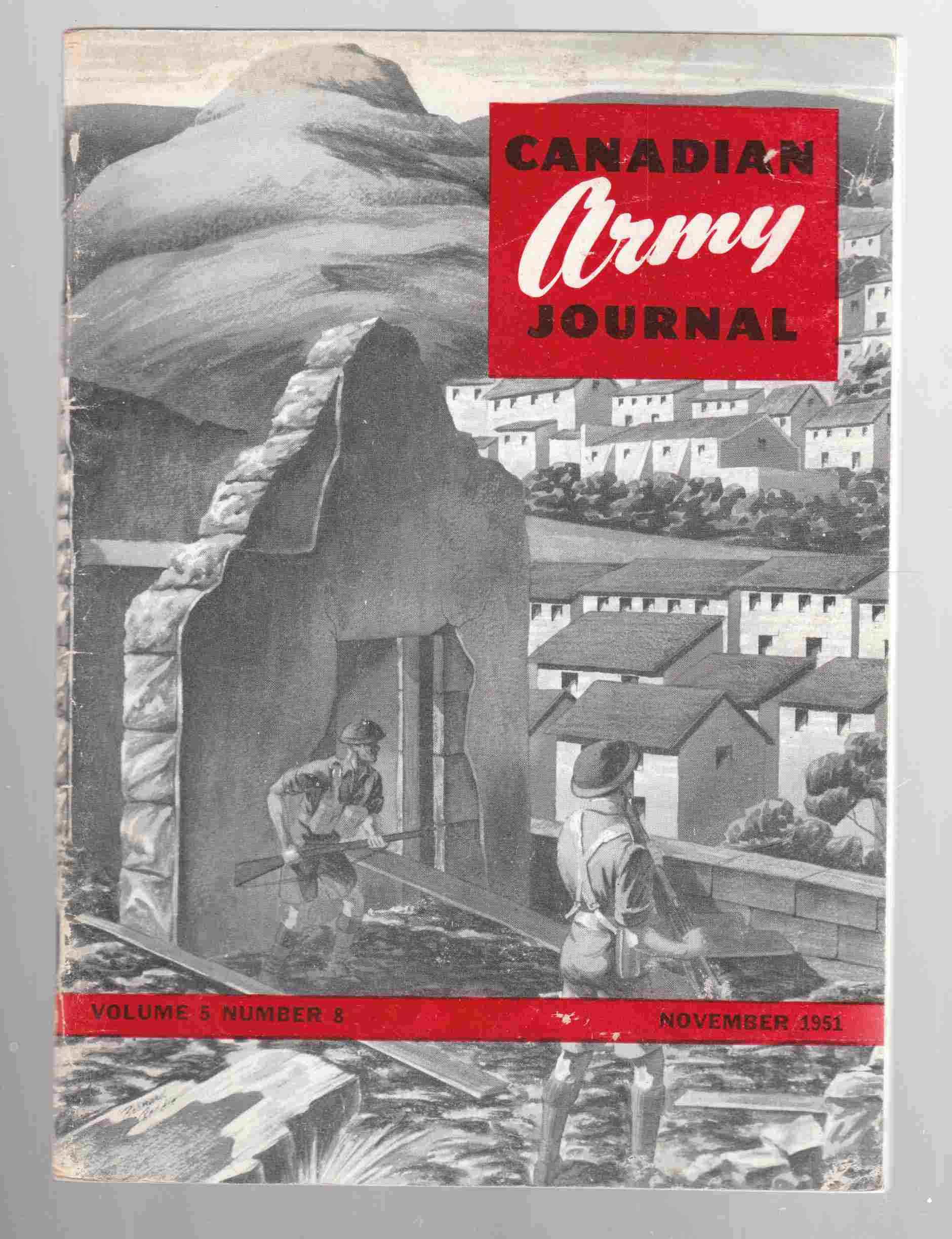 Image for Canadian Army Journal Volume 5 Number 8 November 1951