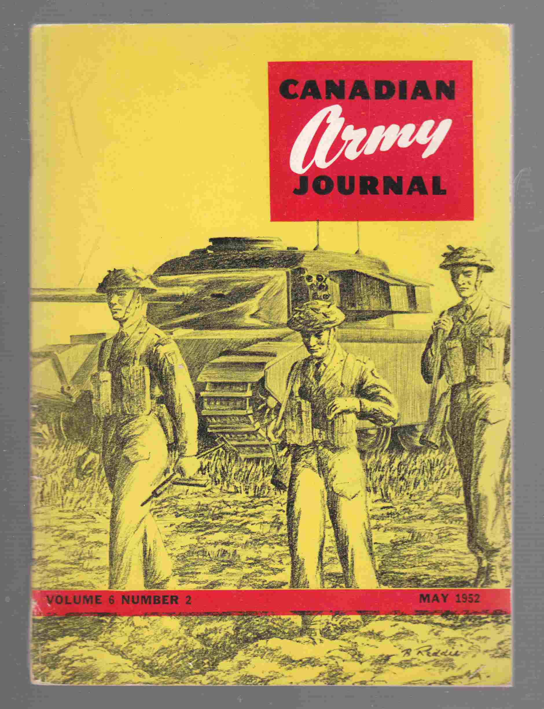 Image for Canadian Army Journal Volume 6 Number 2 May 1952