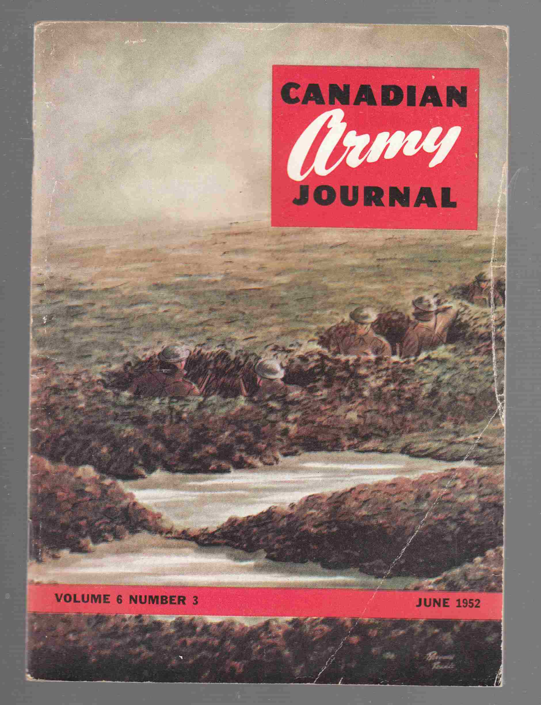 Image for Canadian Army Journal Volume 6 Number 3 June 1952