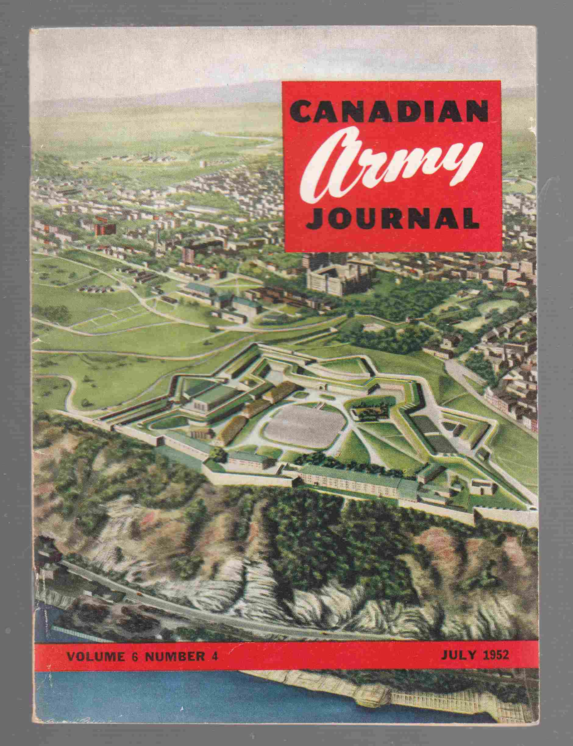 Image for Canadian Army Journal Volume 6 Number 4 July 1952