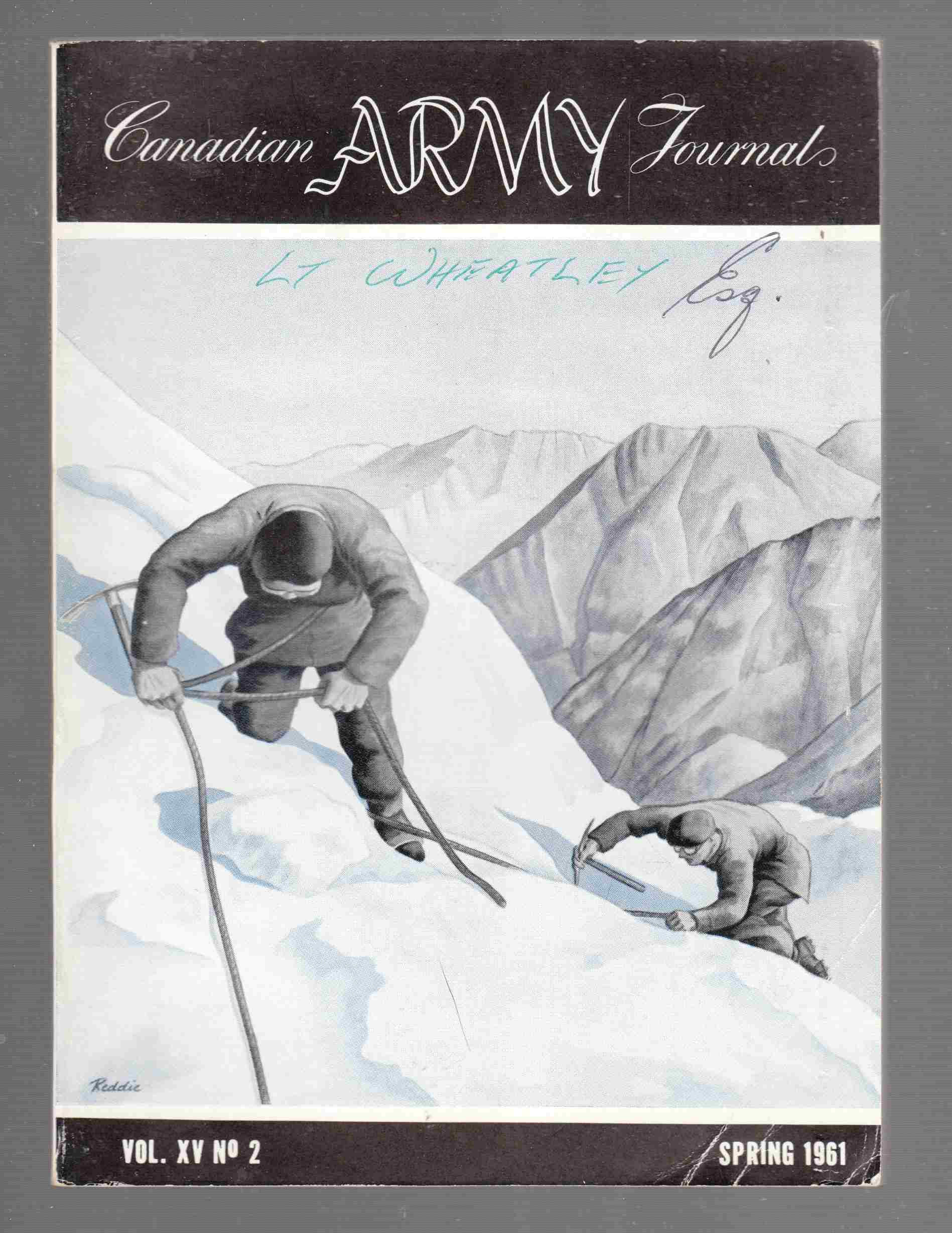 Image for The Canadian Army Journal Vol. XV No. 2 Spring 1961