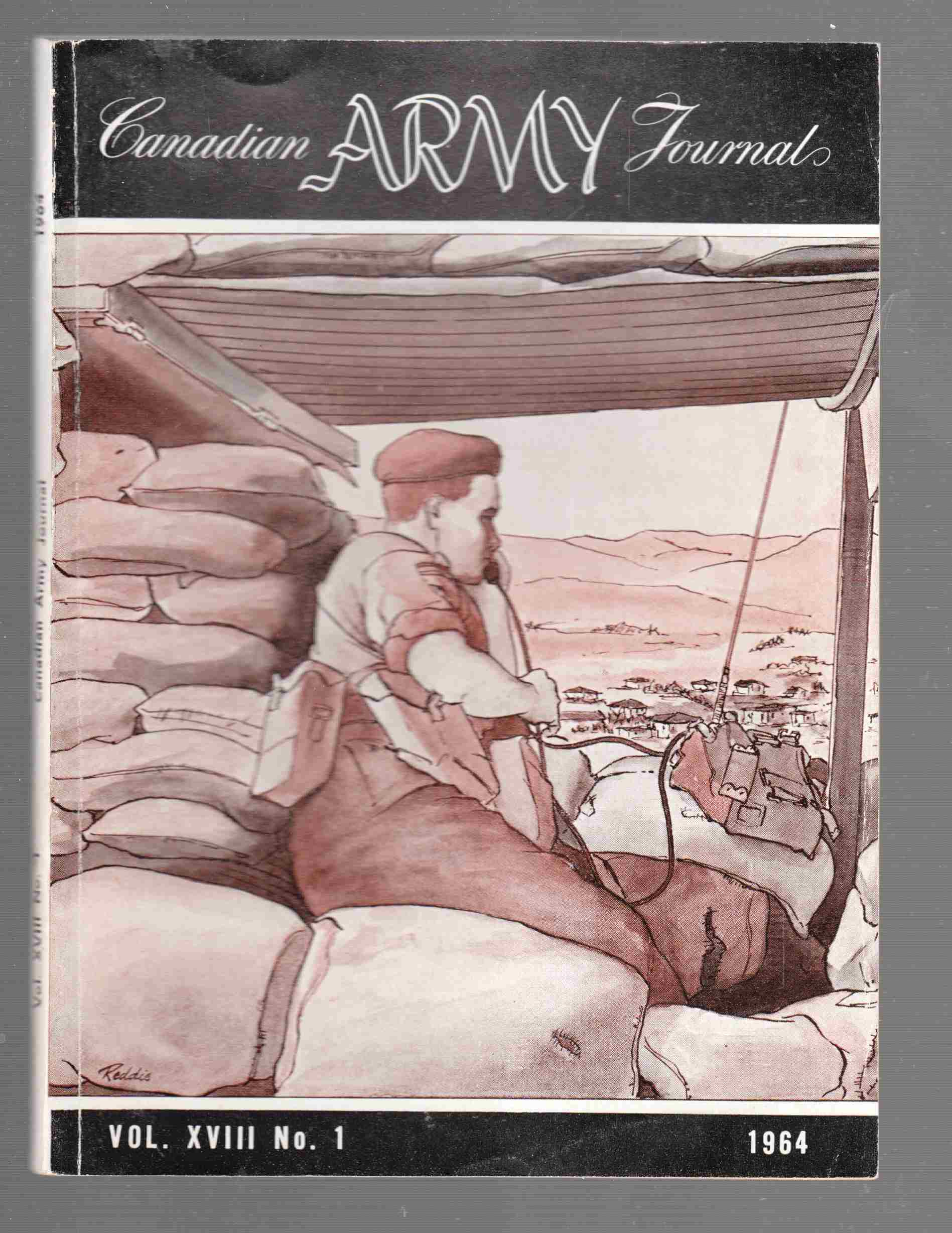 Image for The Canadian Army Journal Vol. XVIII No. 1 1964