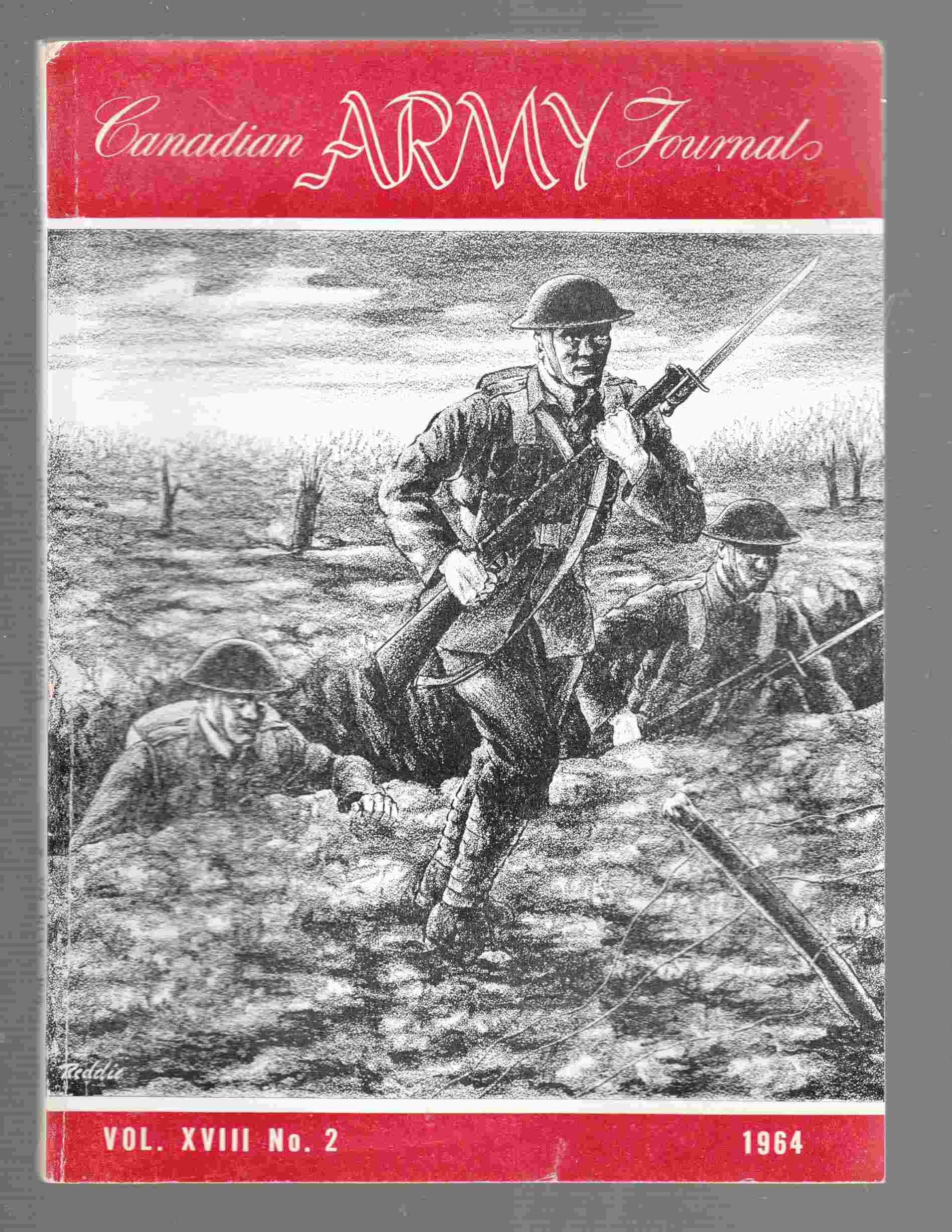 Image for The Canadian Army Journal Vol. XVIII No. 2 1964