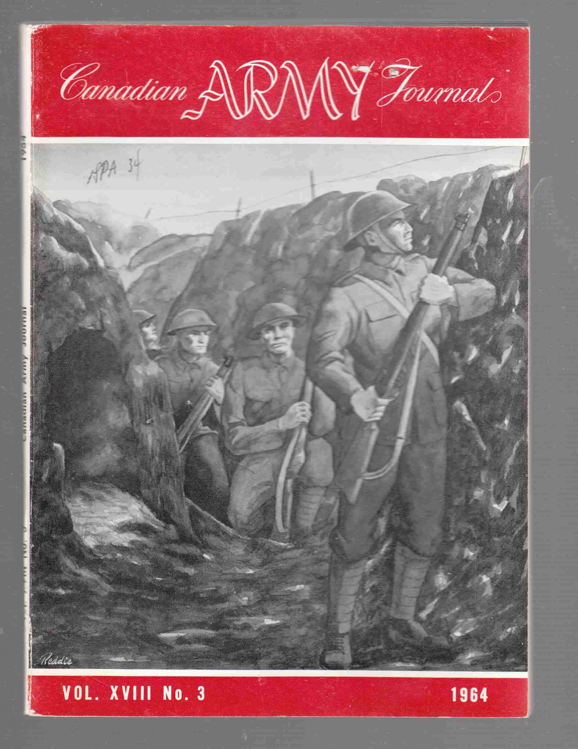 Image for The Canadian Army Journal Vol. XVIII No. 3 1964