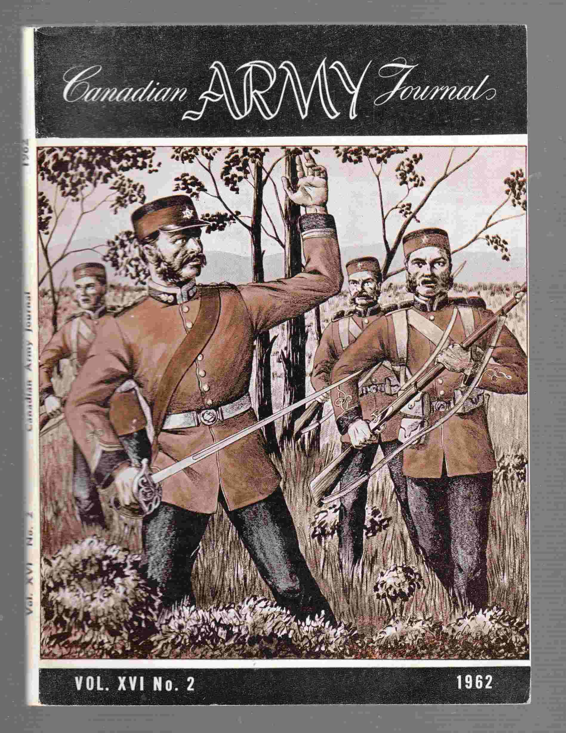 Image for The Canadian Army Journal Vol. XVI No. 2 1962