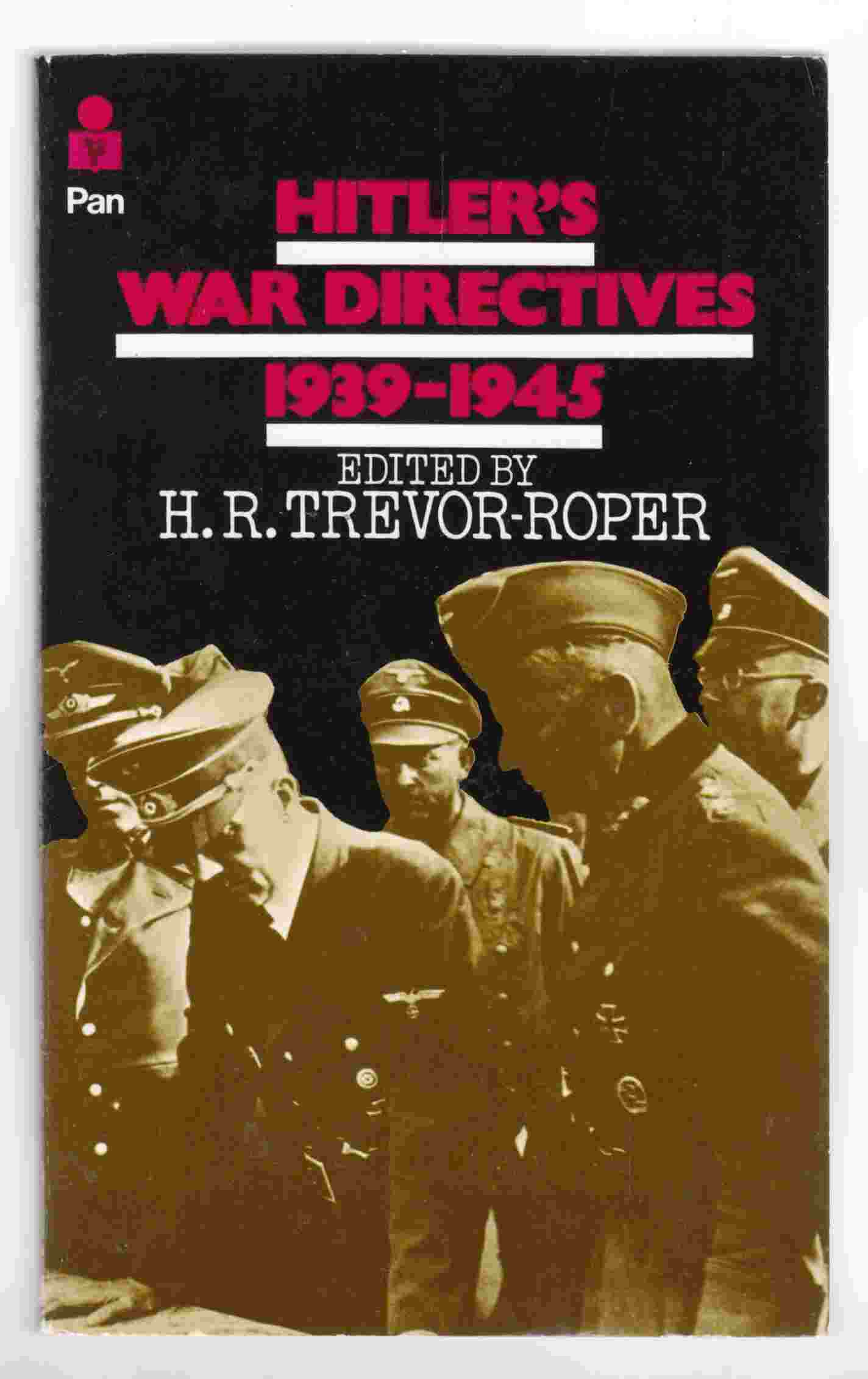 Image for Hitler's War Directives 1939-1945