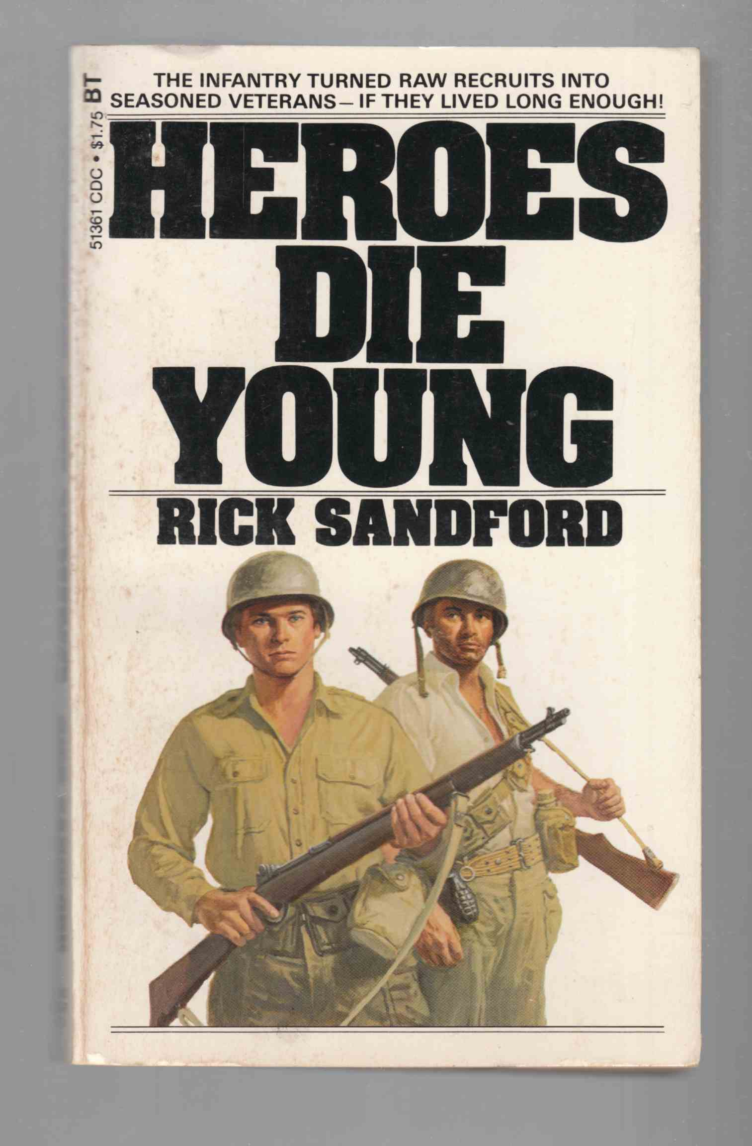 Image for Heroes Die Young
