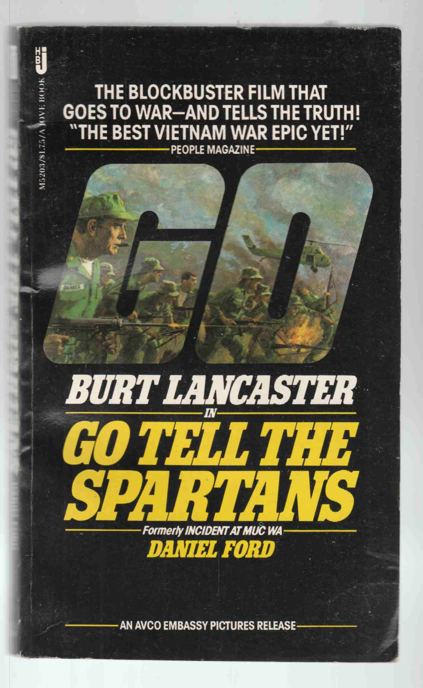Image for Go Tell the Spartans