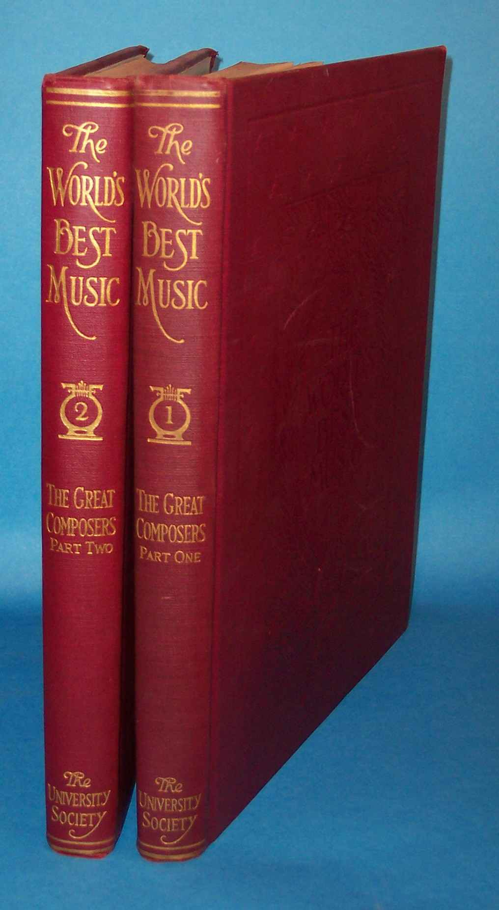 Image for The World's Best Music: International Edition: The Great Composers (2 Volumes)
