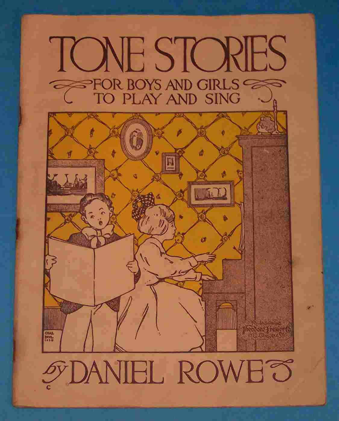 Image for Tone Stories for Boys and Girls to Play and Sing
