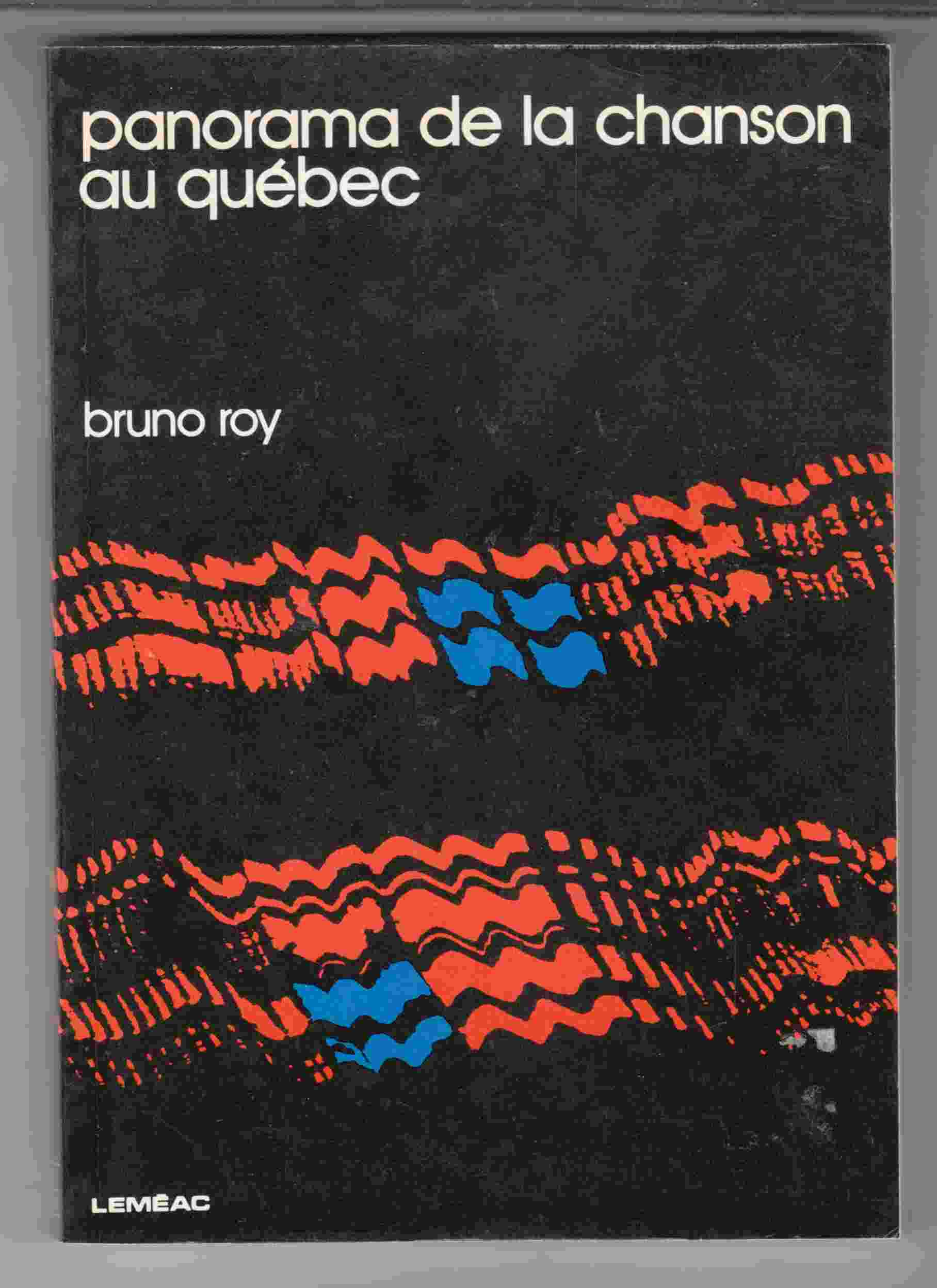Image for Panorama De La Chanson Au Quebec