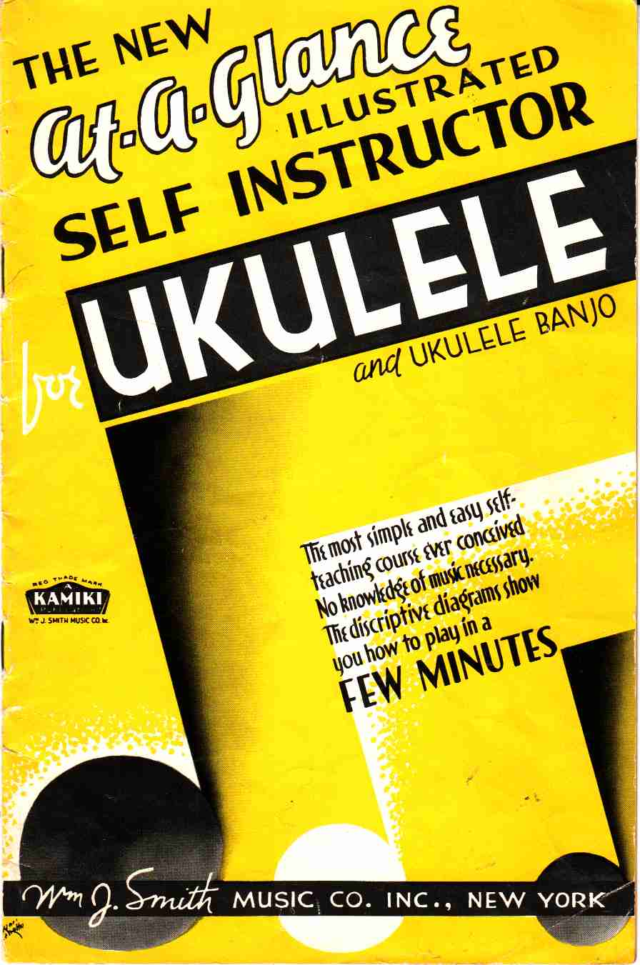 Image for The New At-A-Glance Illustrated Self Instructor for Ukulele and Ukulele Banjo