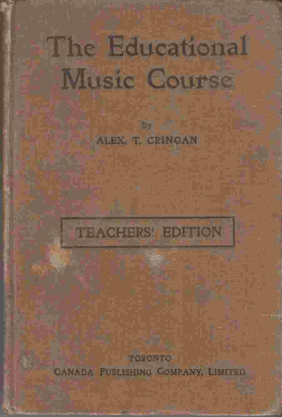 Image for The Educational Music Course Teachers' Edition