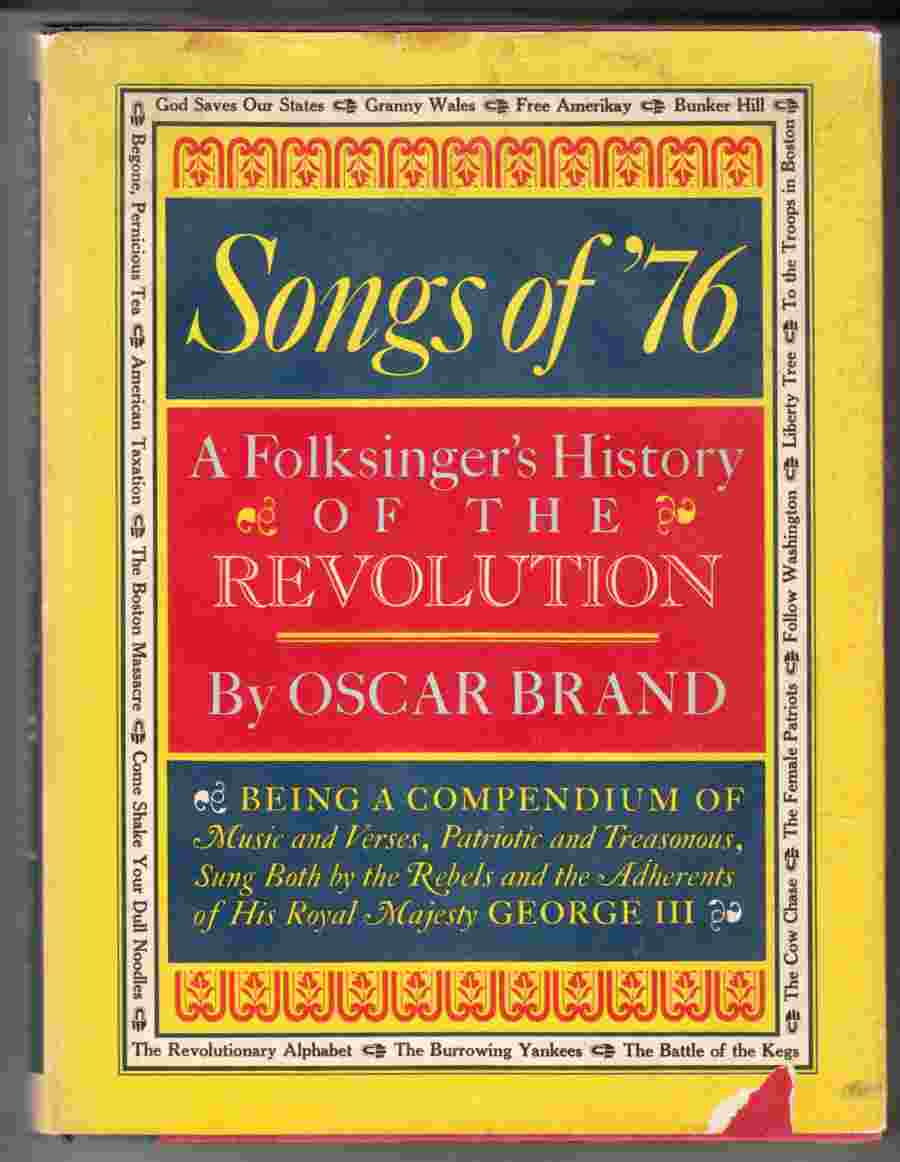 Image for Songs of '76 A Folksinger's History of the American Revolution