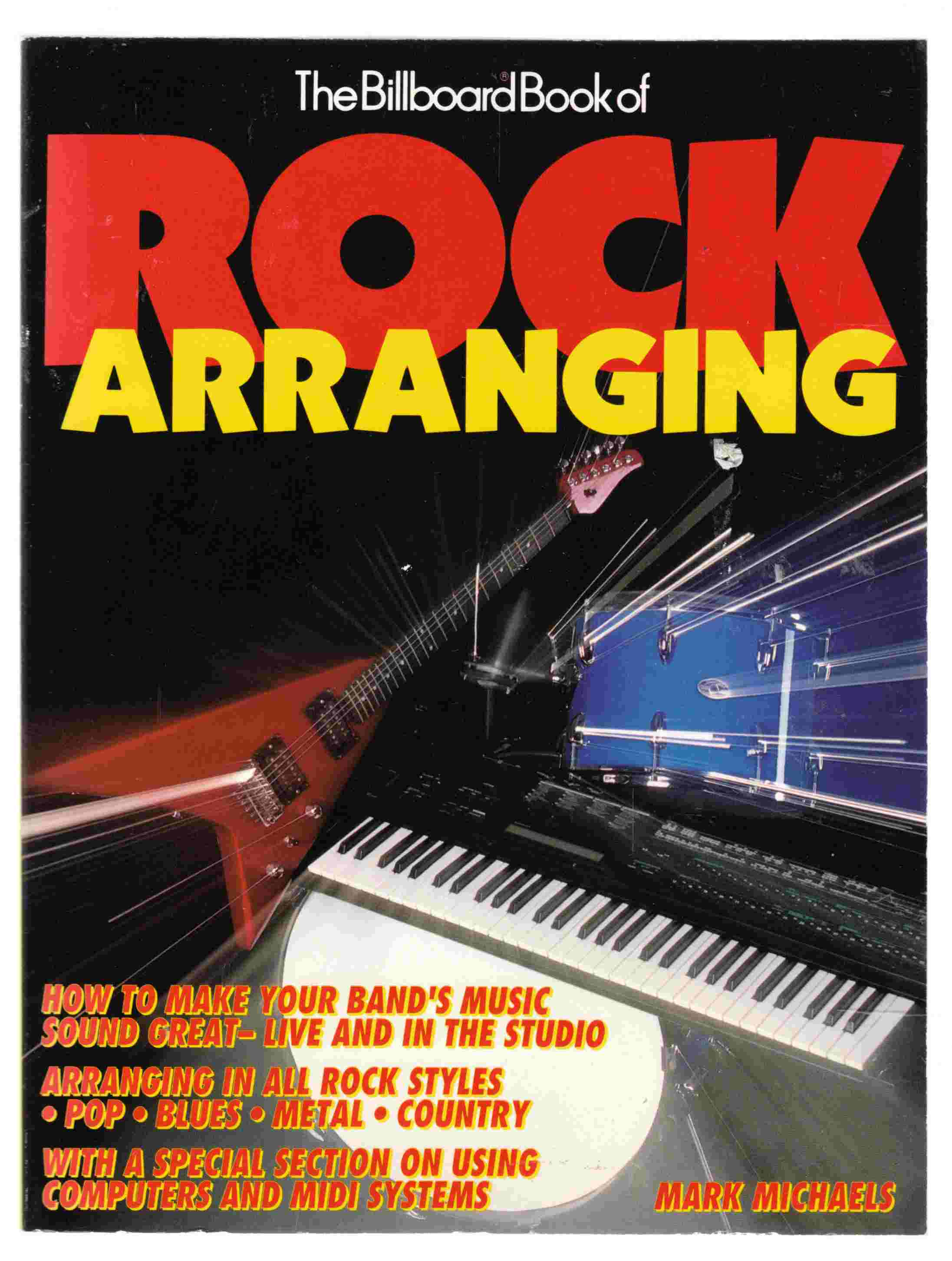 Image for The Billboard Book of Rock Arranging
