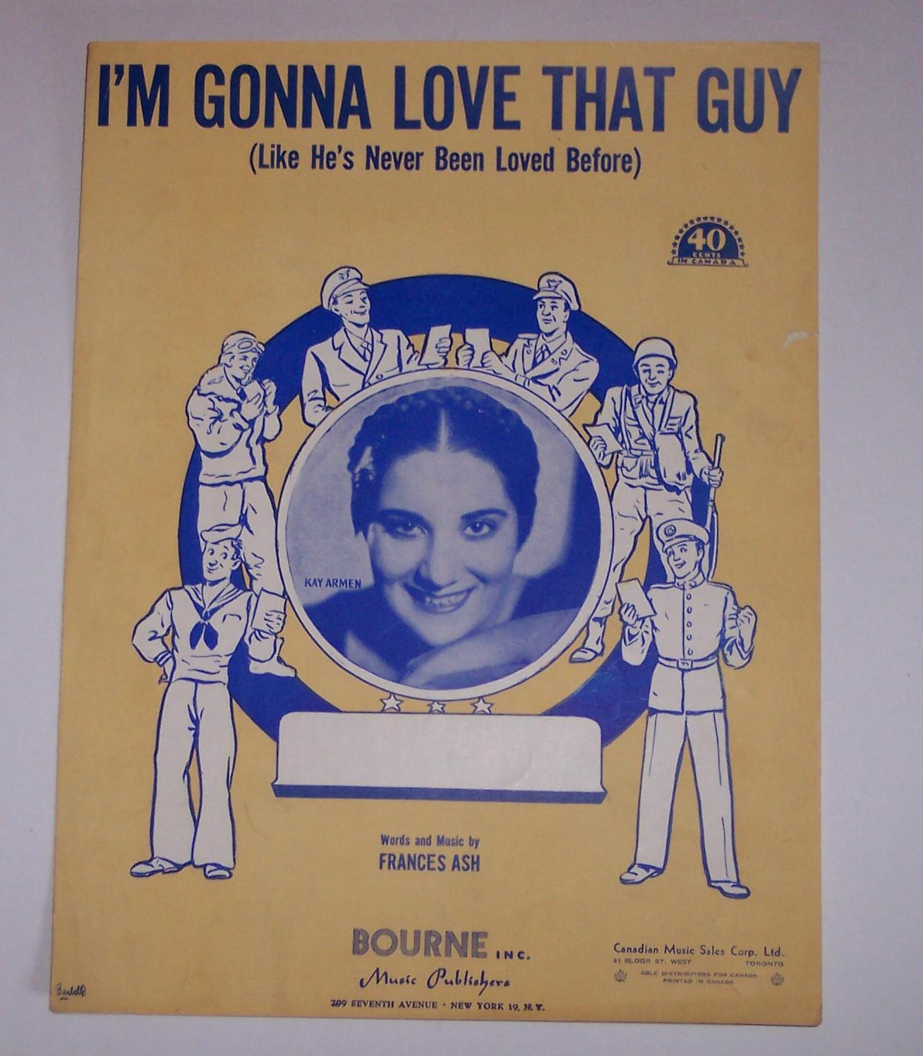 Image for I'M Gonna Love That Guy (Like He's Never Been Loved Before)