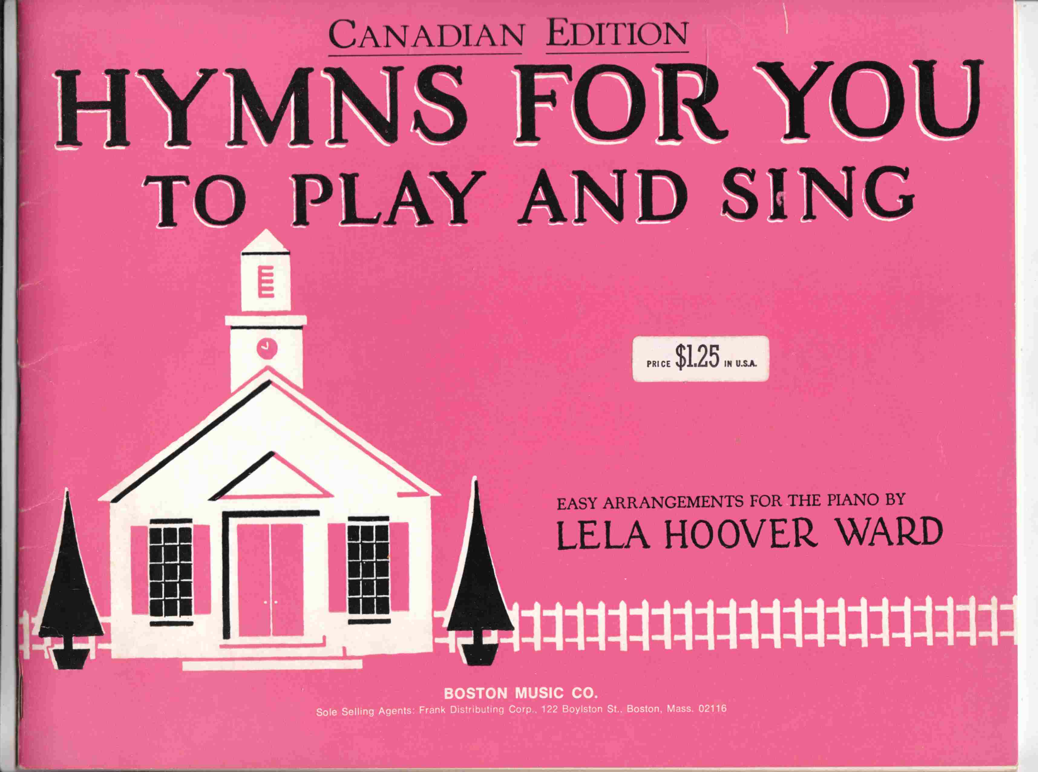 Image for Hymns for You to Play and Sing Canadian Edition