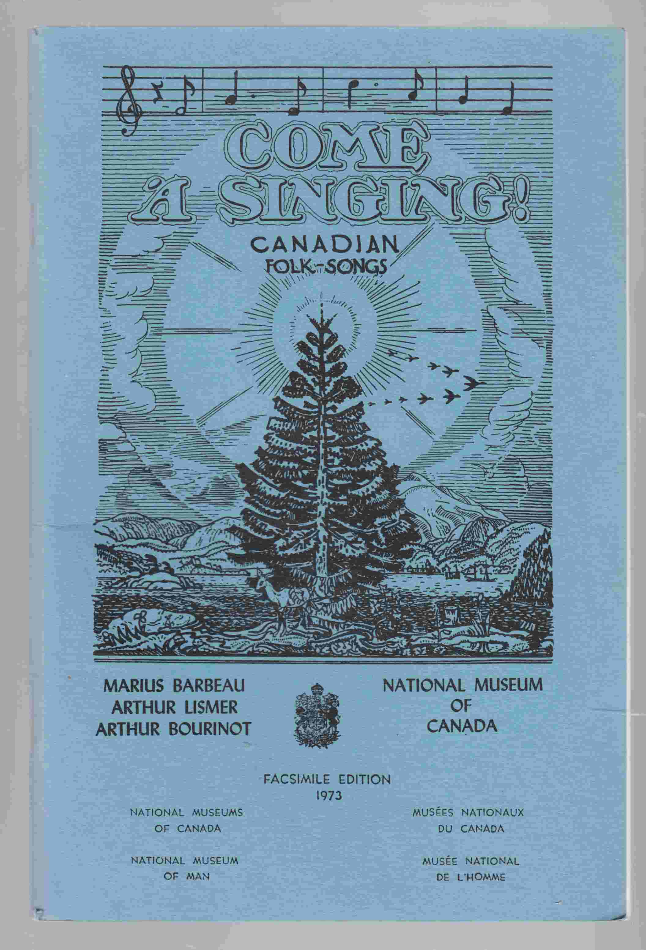 Image for Come a Singing! Canadian Folk Songs