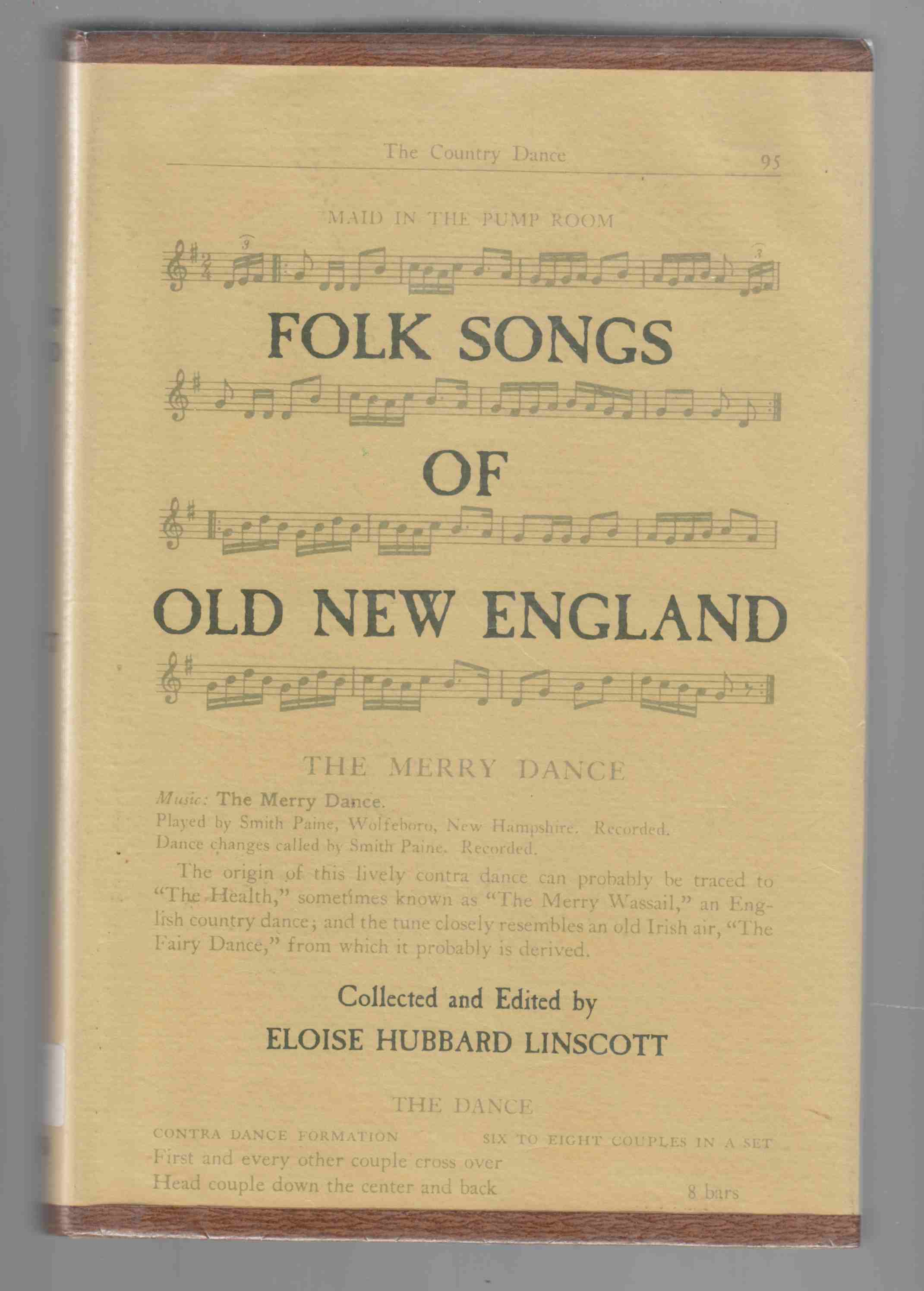Image for Folk Songs of Old New England Second Edition