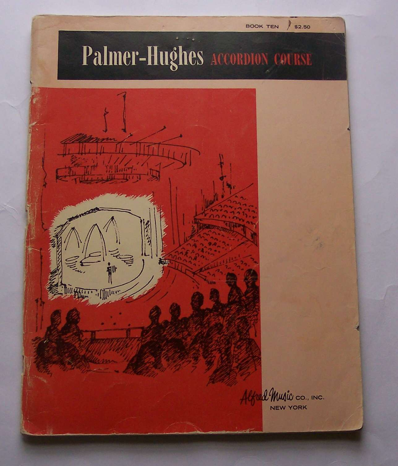 Image for Palmer-Huges Accordion Course Book 10