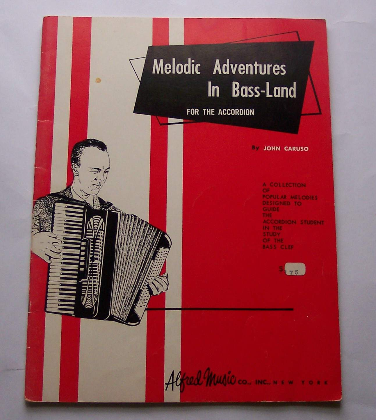 Image for Melodic Adventures in Bass-Land for the Accordion