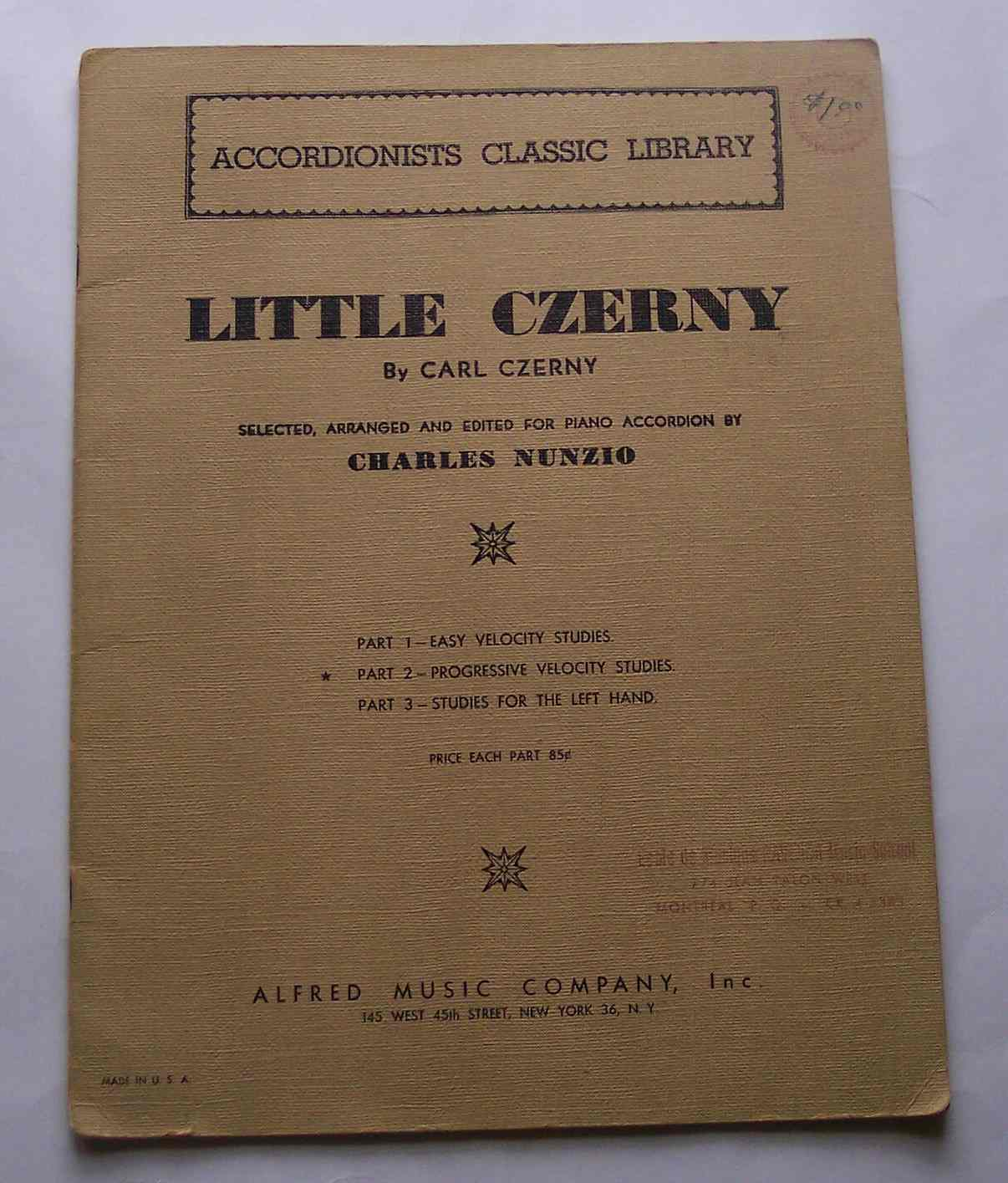 Image for Little Czerny
