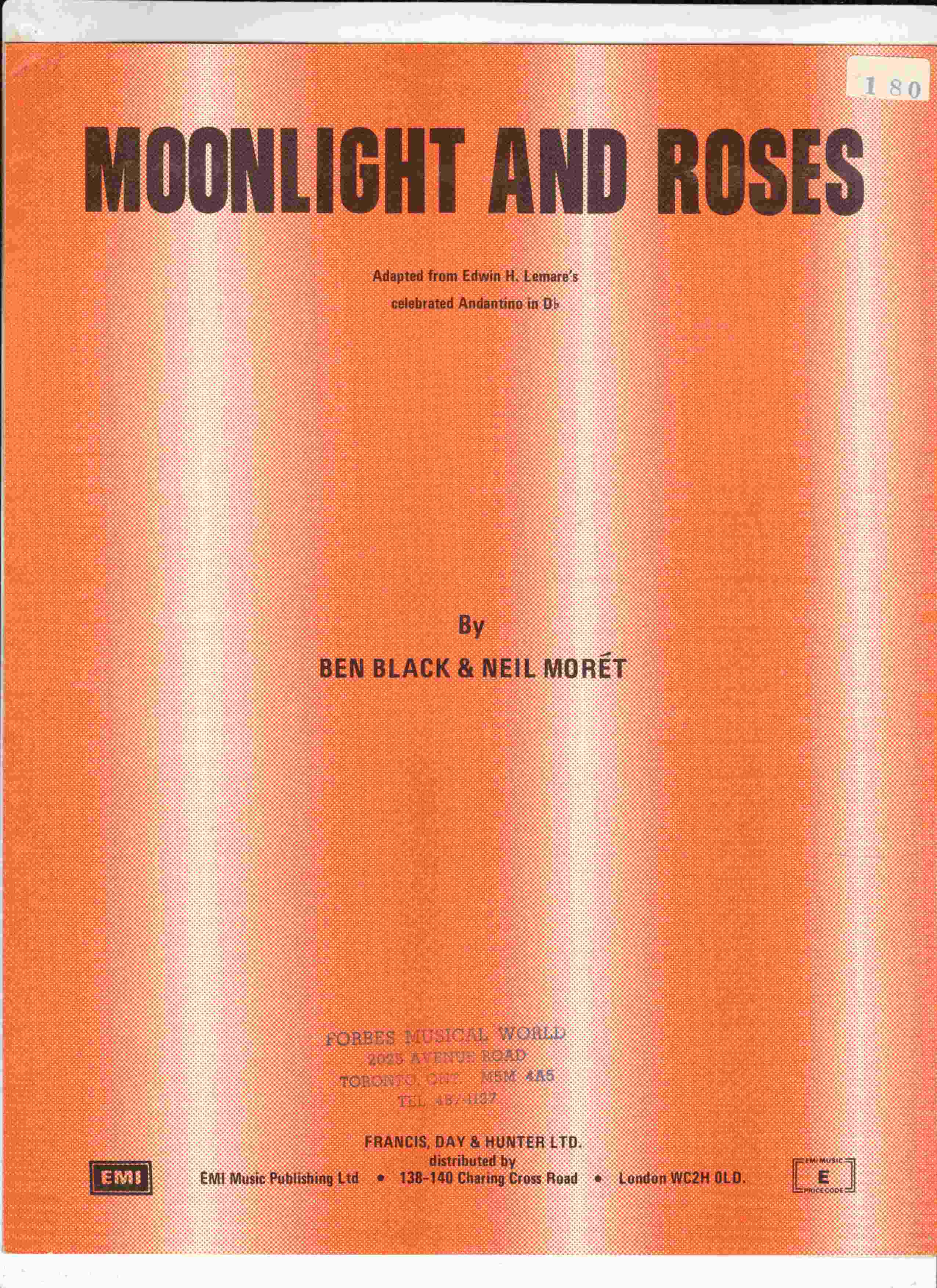 Image for Moonlight and Roses