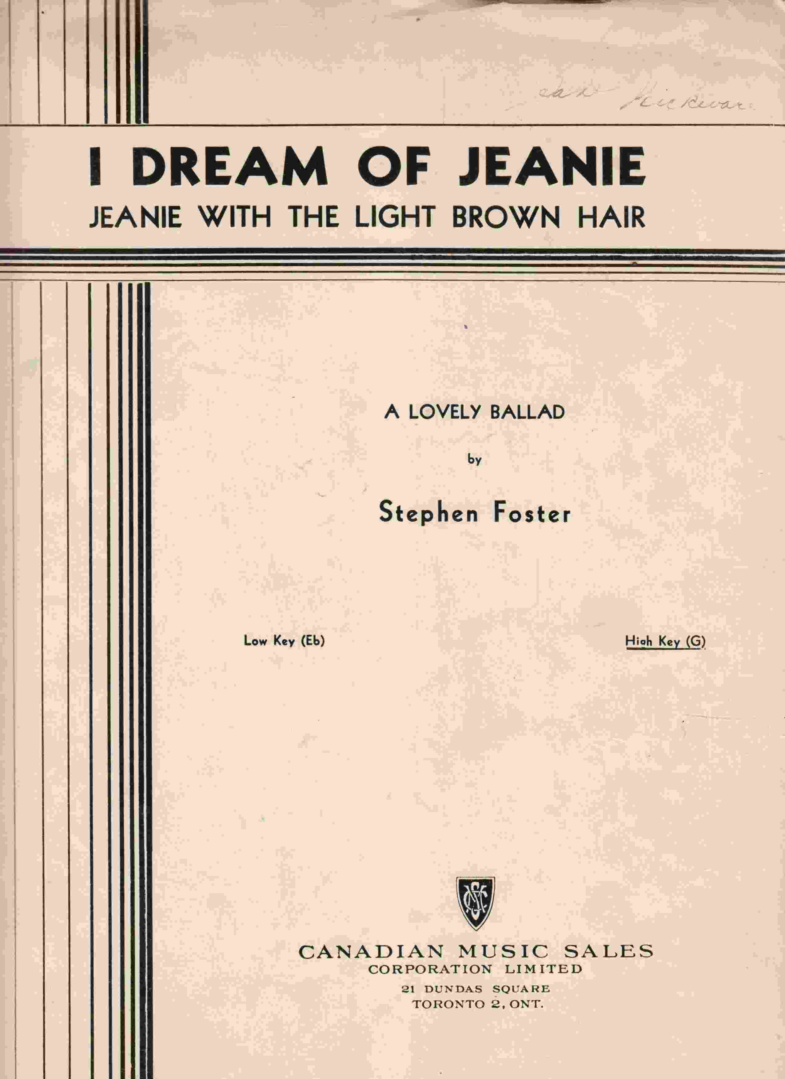 I Dream of Jeanie with the Light Brown Hair
