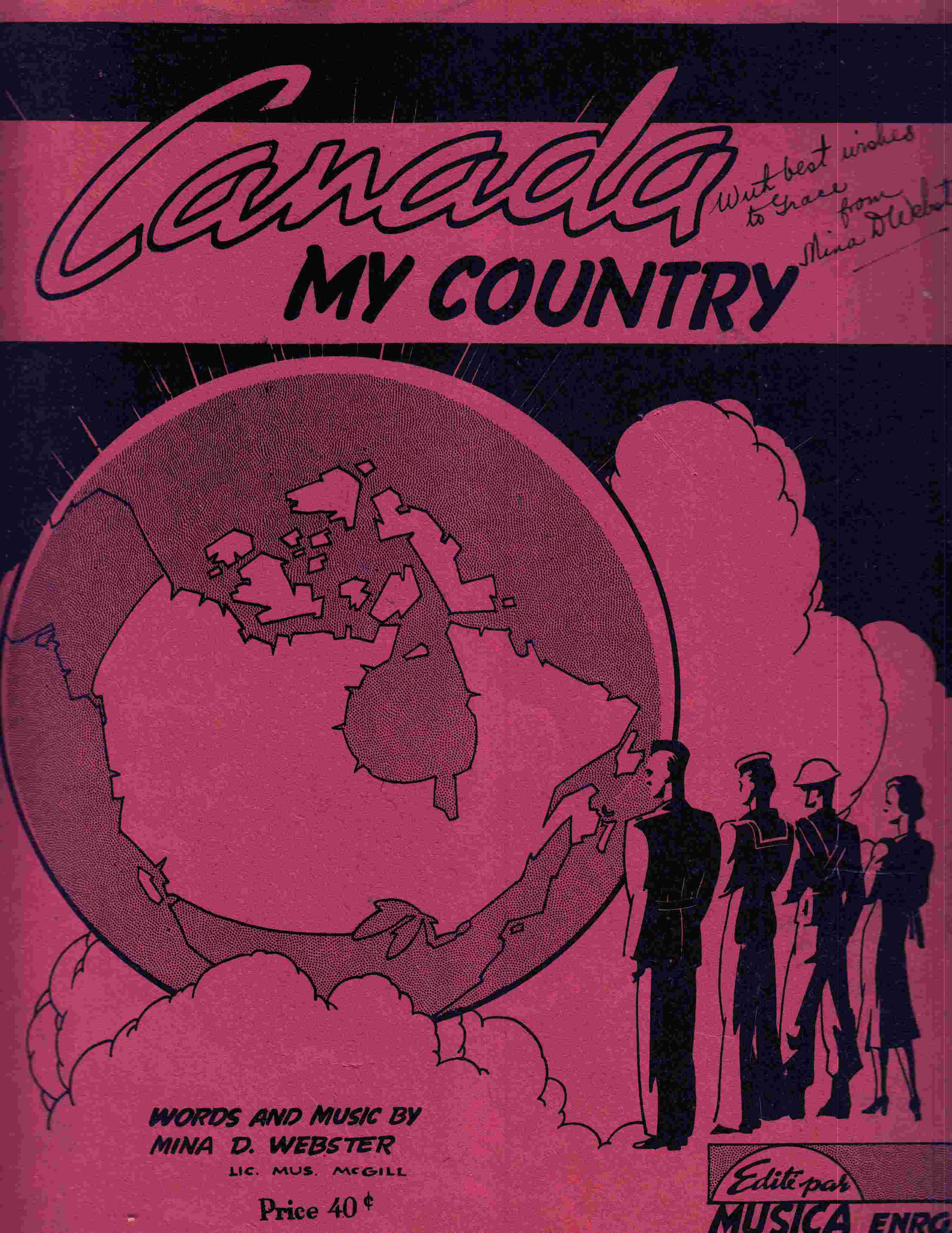 Image for Canada My Country