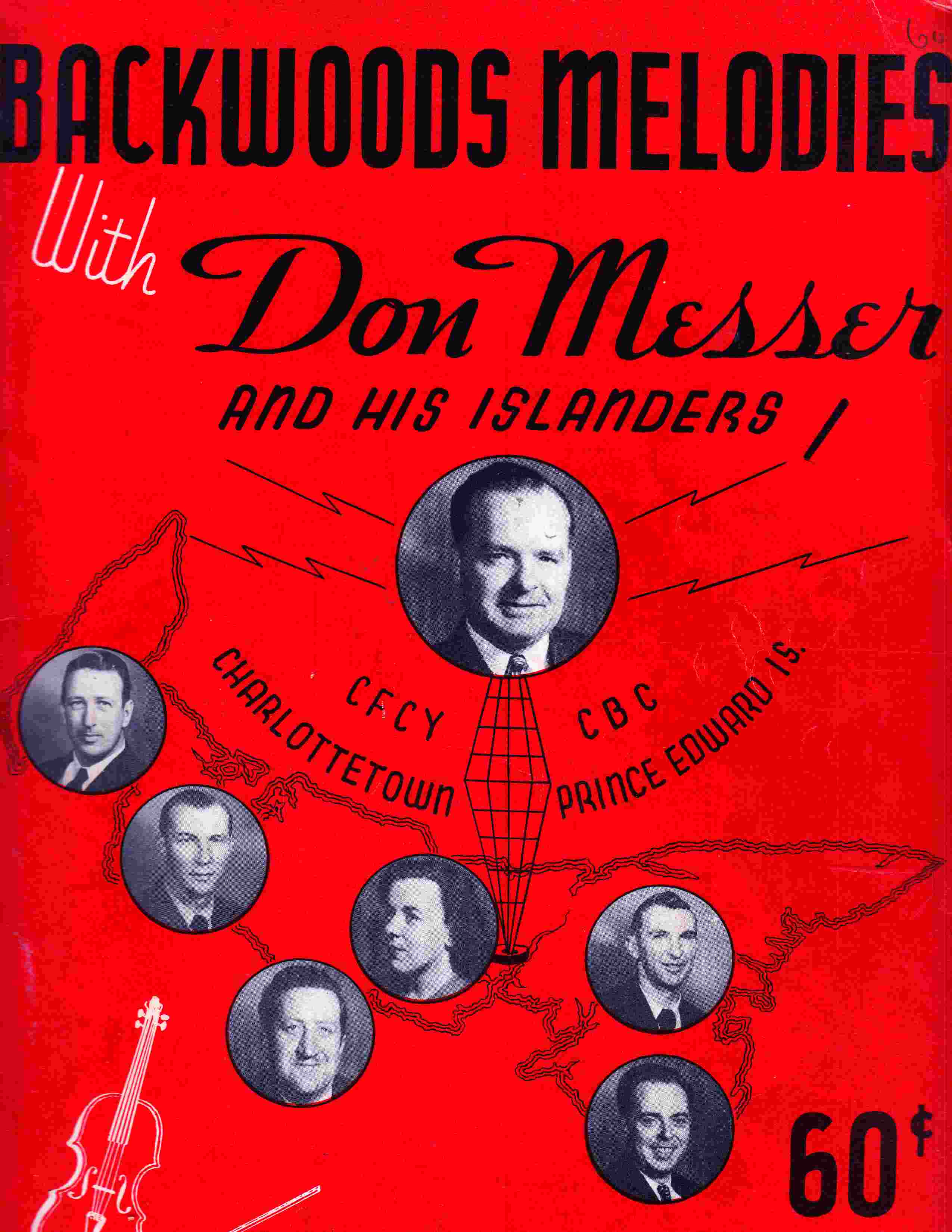 Image for Backwoods Melodies with Don Messer and His Islanders