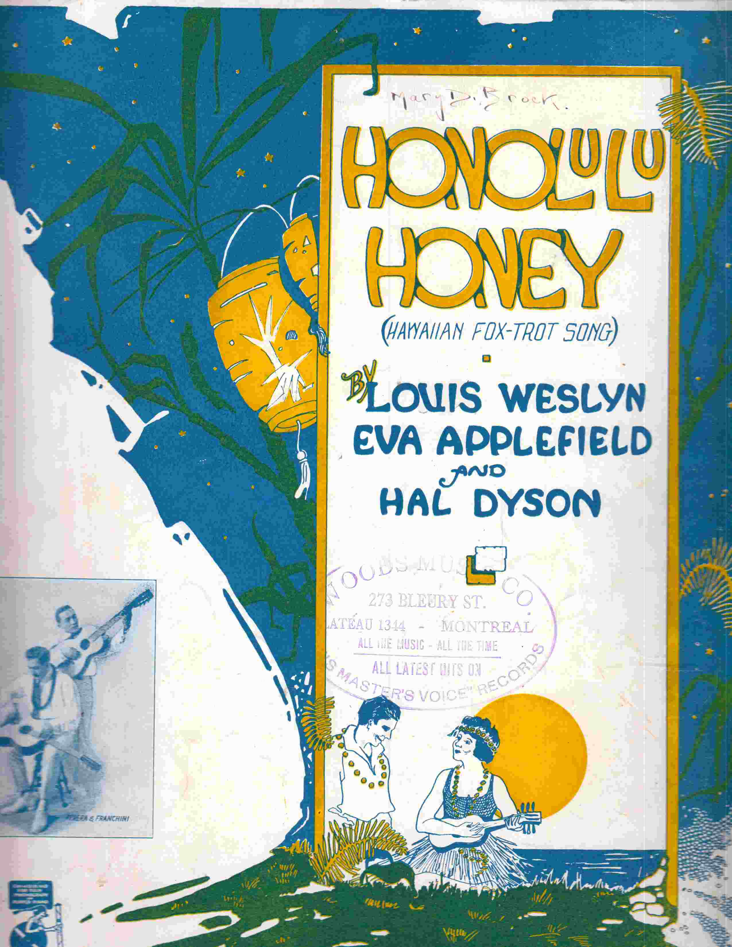 Image for Honolulu Honey