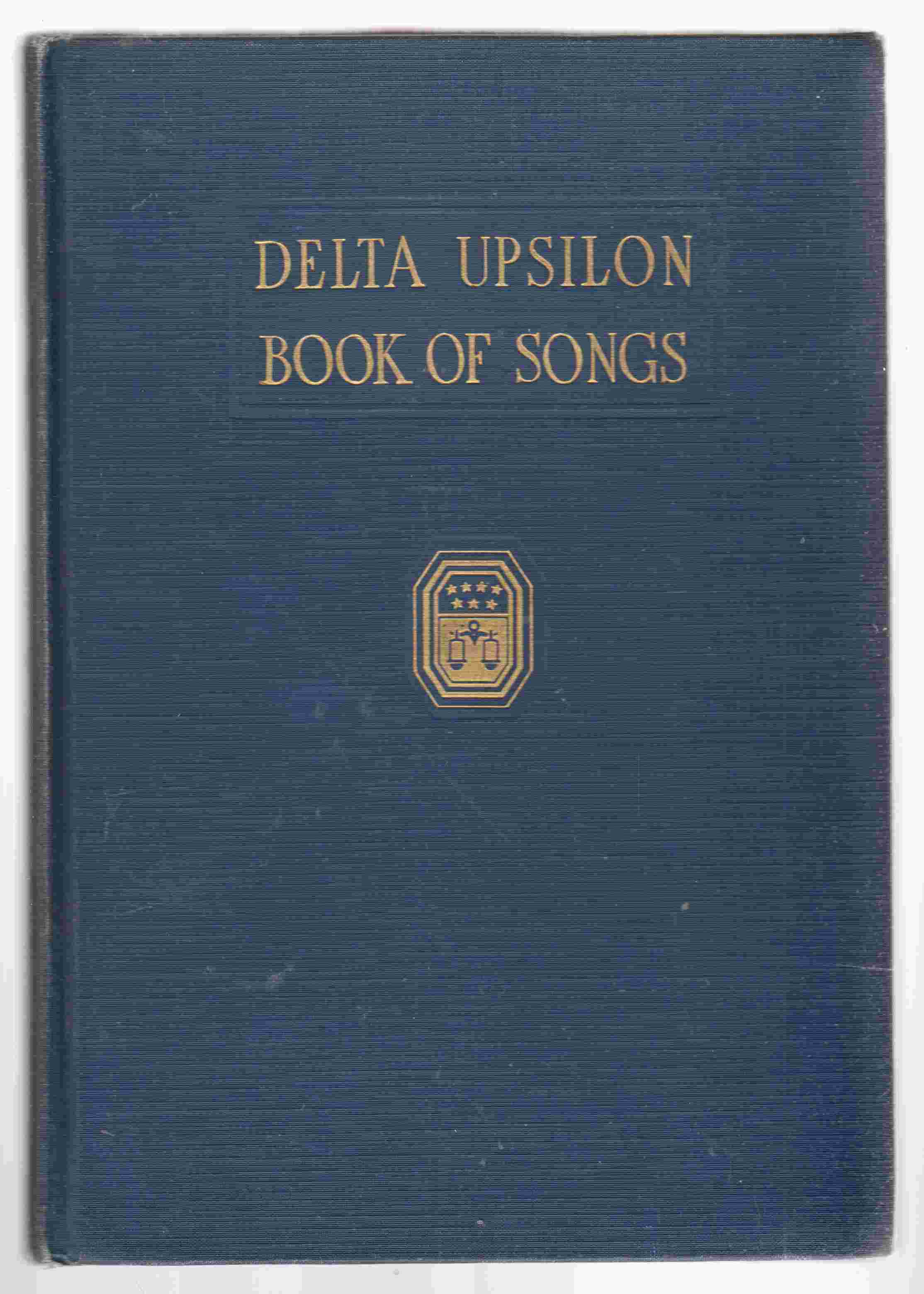 Image for Delta Upsilon Book of Songs