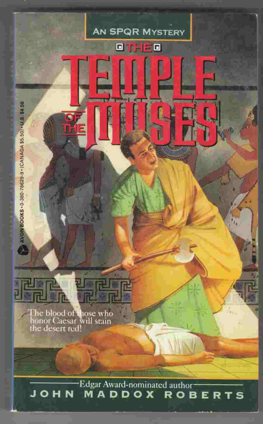 Image for The Temple of the Muses: An SPQR Mystery