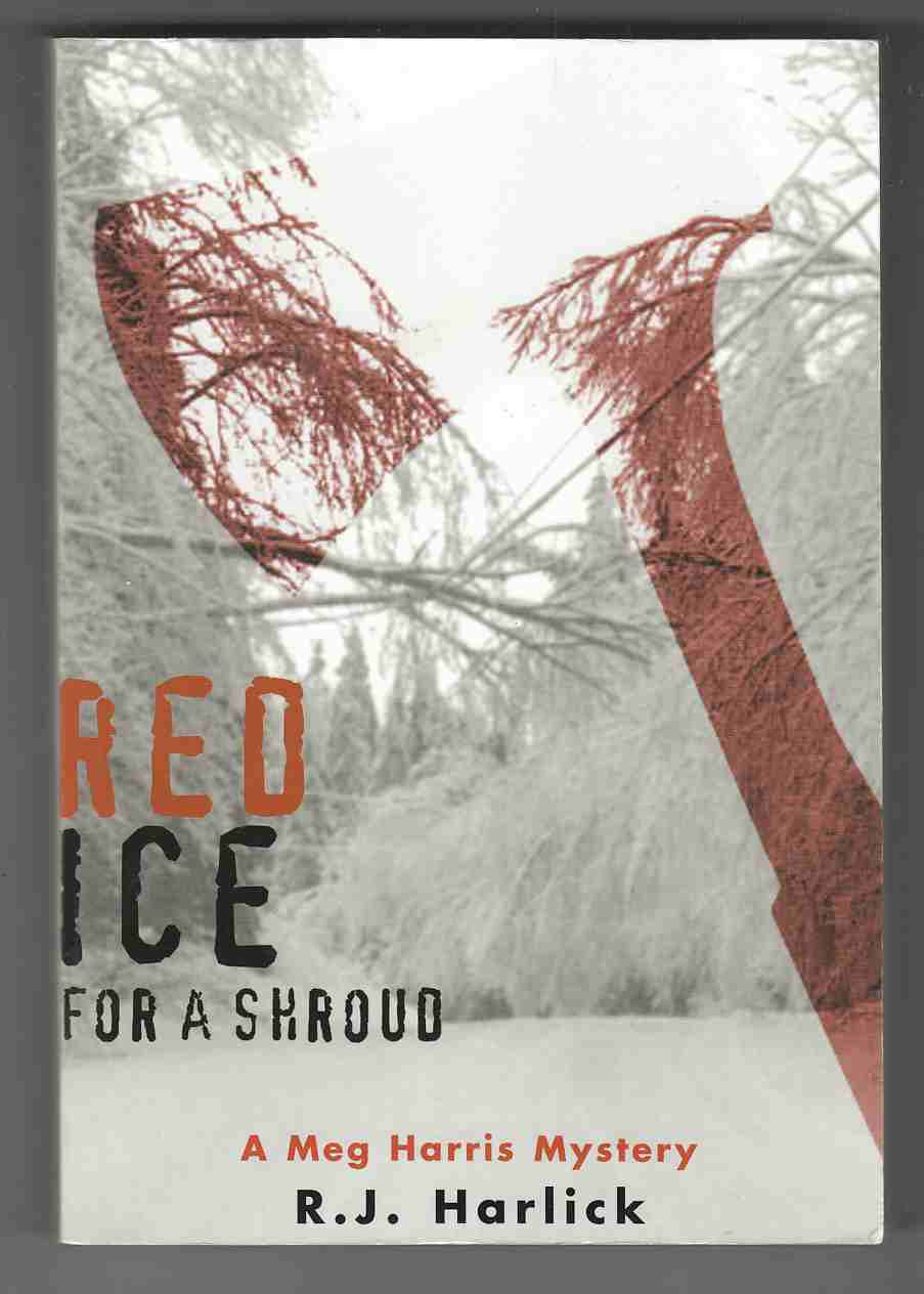 Image for Red Ice for a Shroud A Meg Harris Mystery
